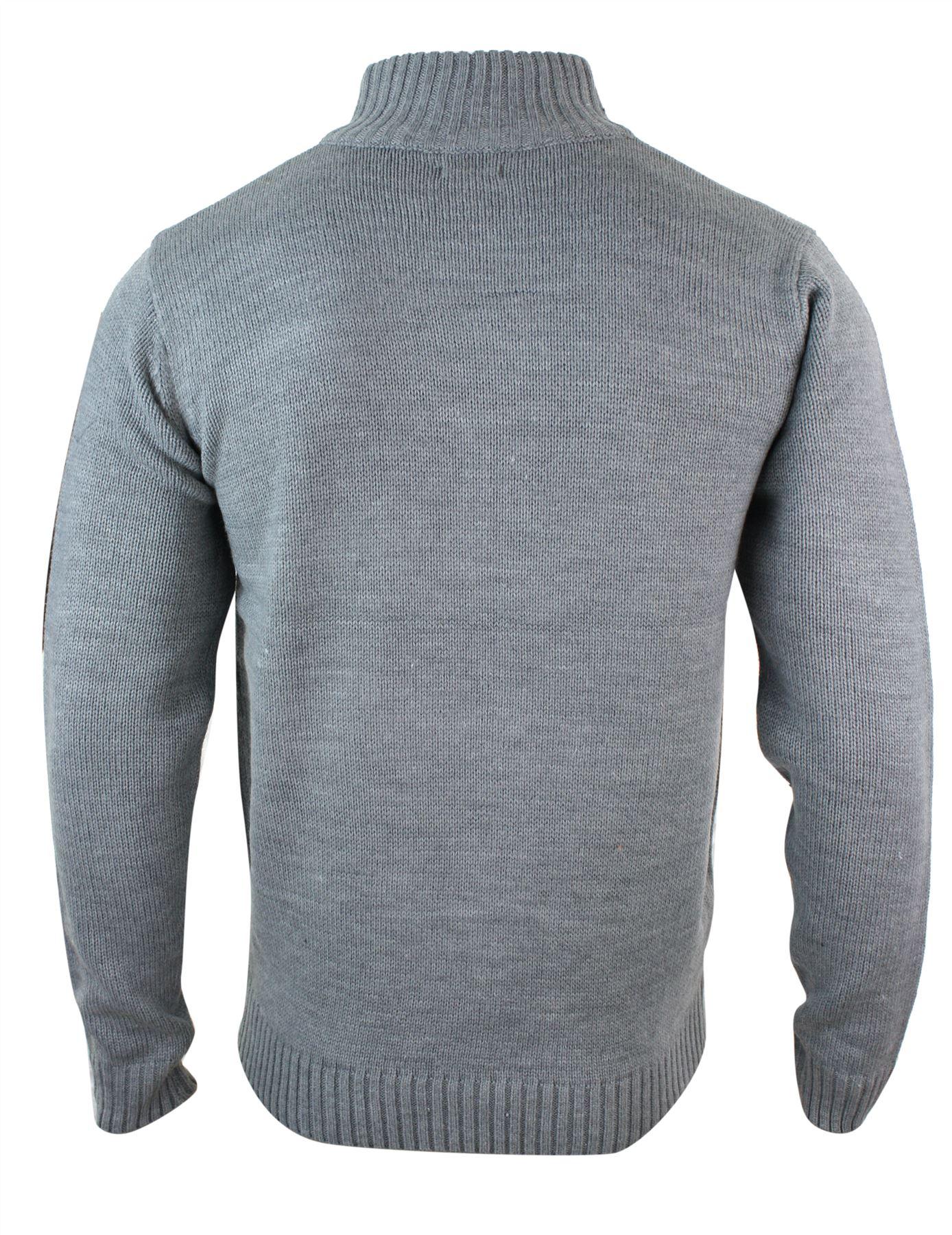 pull homme swaet tricot pais avec gros bouton et col haut style hiver chaud ebay. Black Bedroom Furniture Sets. Home Design Ideas