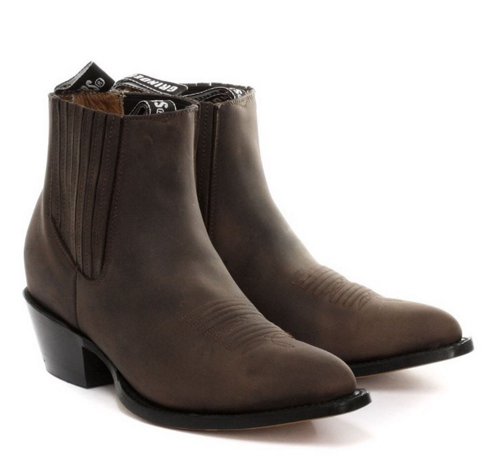 Boots for men will be the style stars of your cool weather wardrobe. Explore our collection of leather, suede and faux leather boots from popular brands. When buying men's boots, always keep your individual taste, profession and lifestyle at the forefront of your mind.