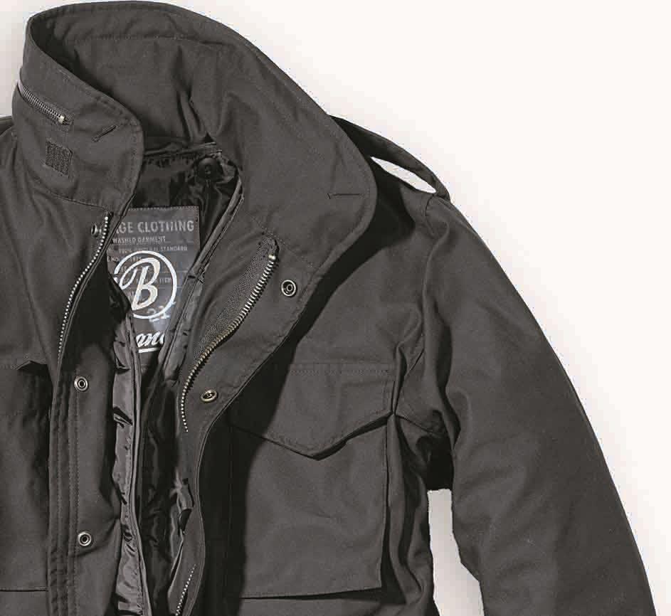 Coupe vent homme parka hiver veste style militaire vintage