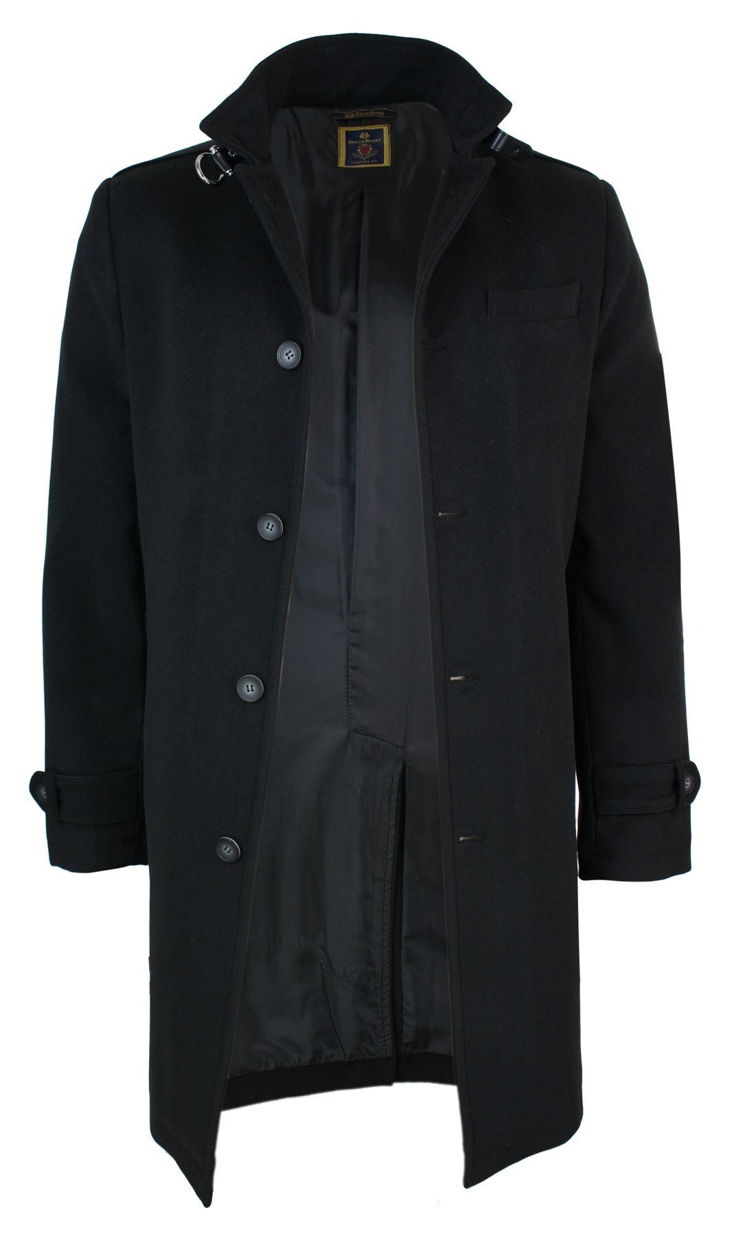 veste longue manteau 3 4 col mao montant d contract chic. Black Bedroom Furniture Sets. Home Design Ideas