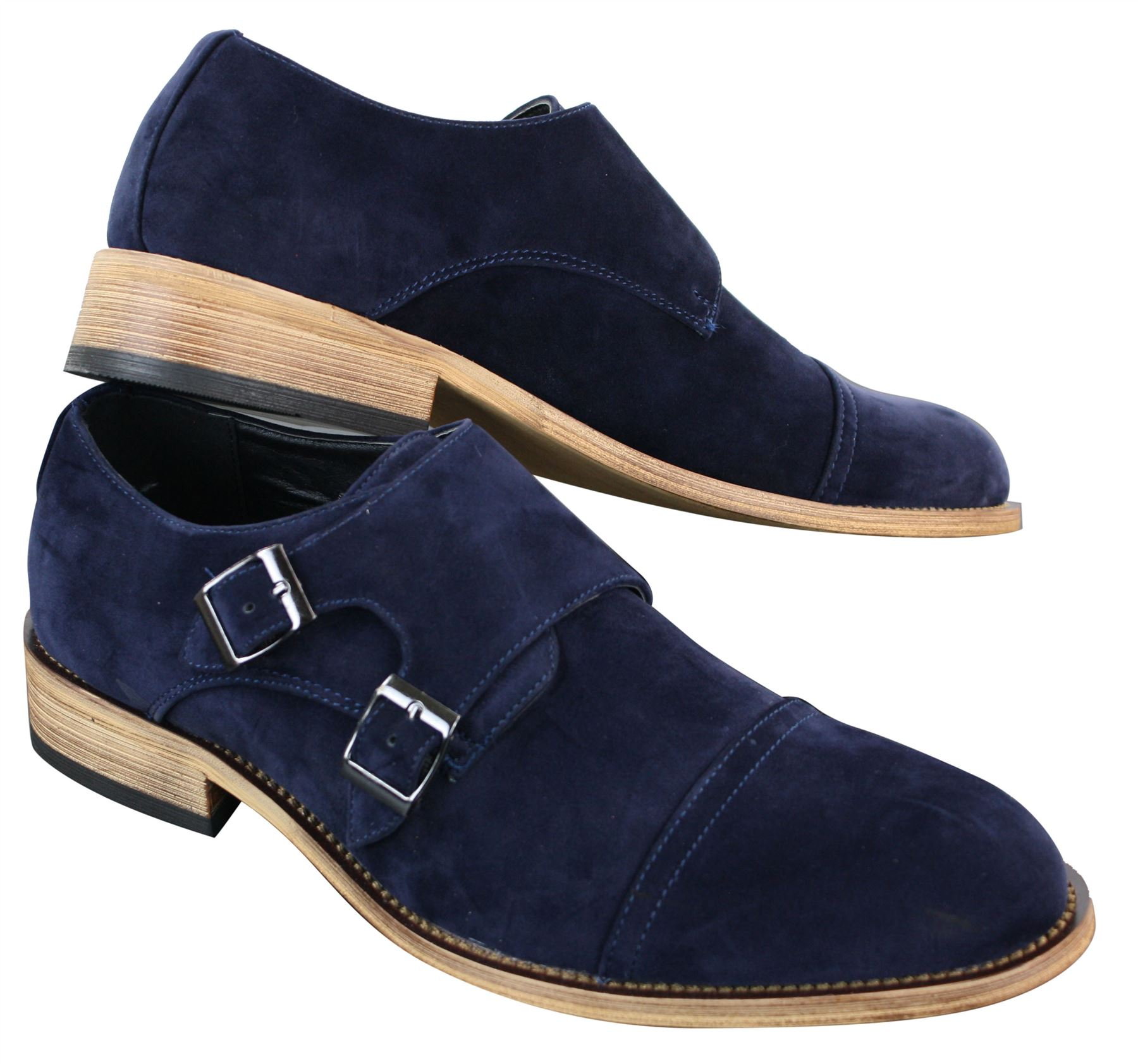 Watch Strap Blue Suede Shoes