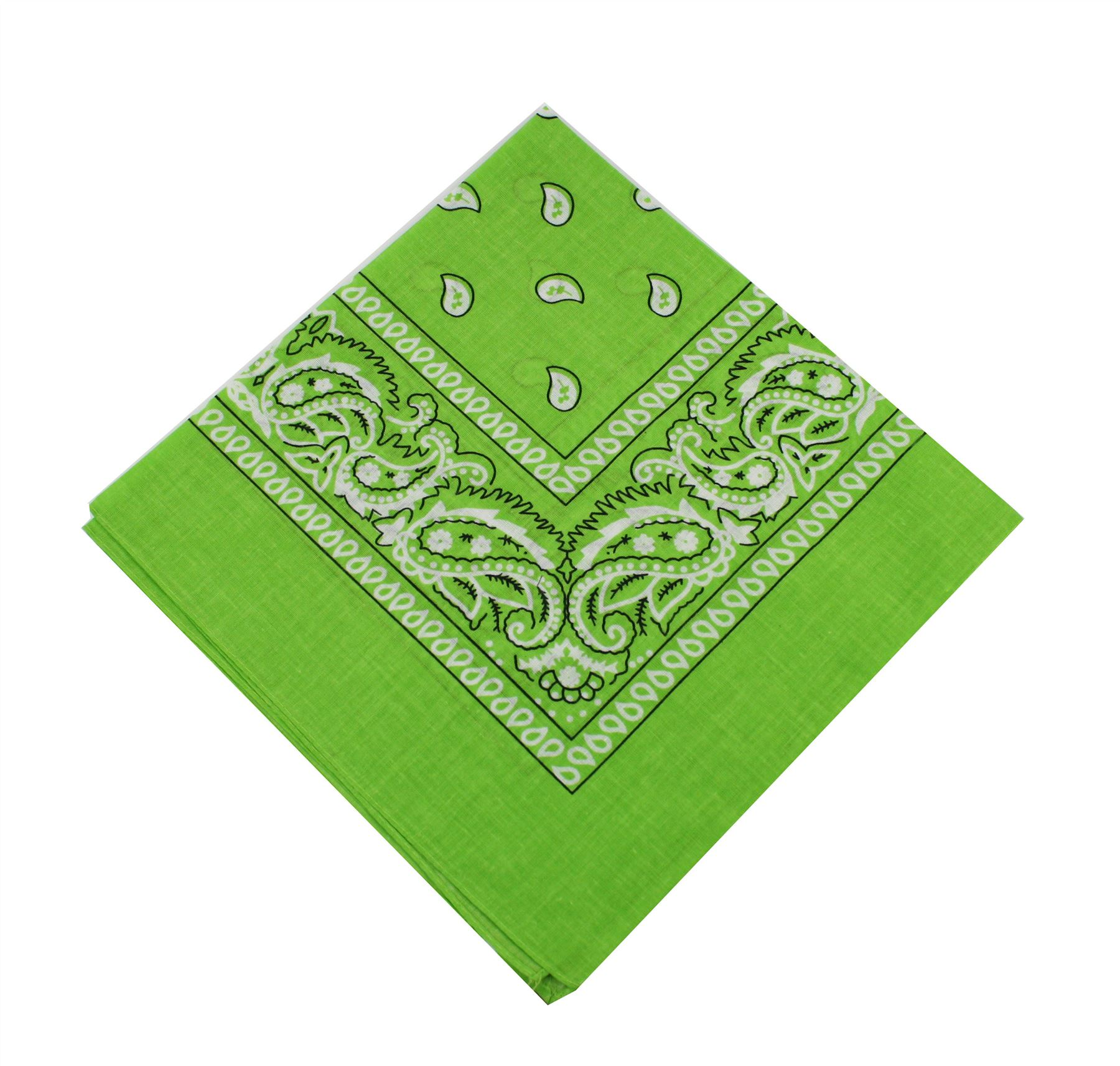 paisley bandana mens ladies headwear cotton scarf neck wrist wrap headtie hair b ebay. Black Bedroom Furniture Sets. Home Design Ideas