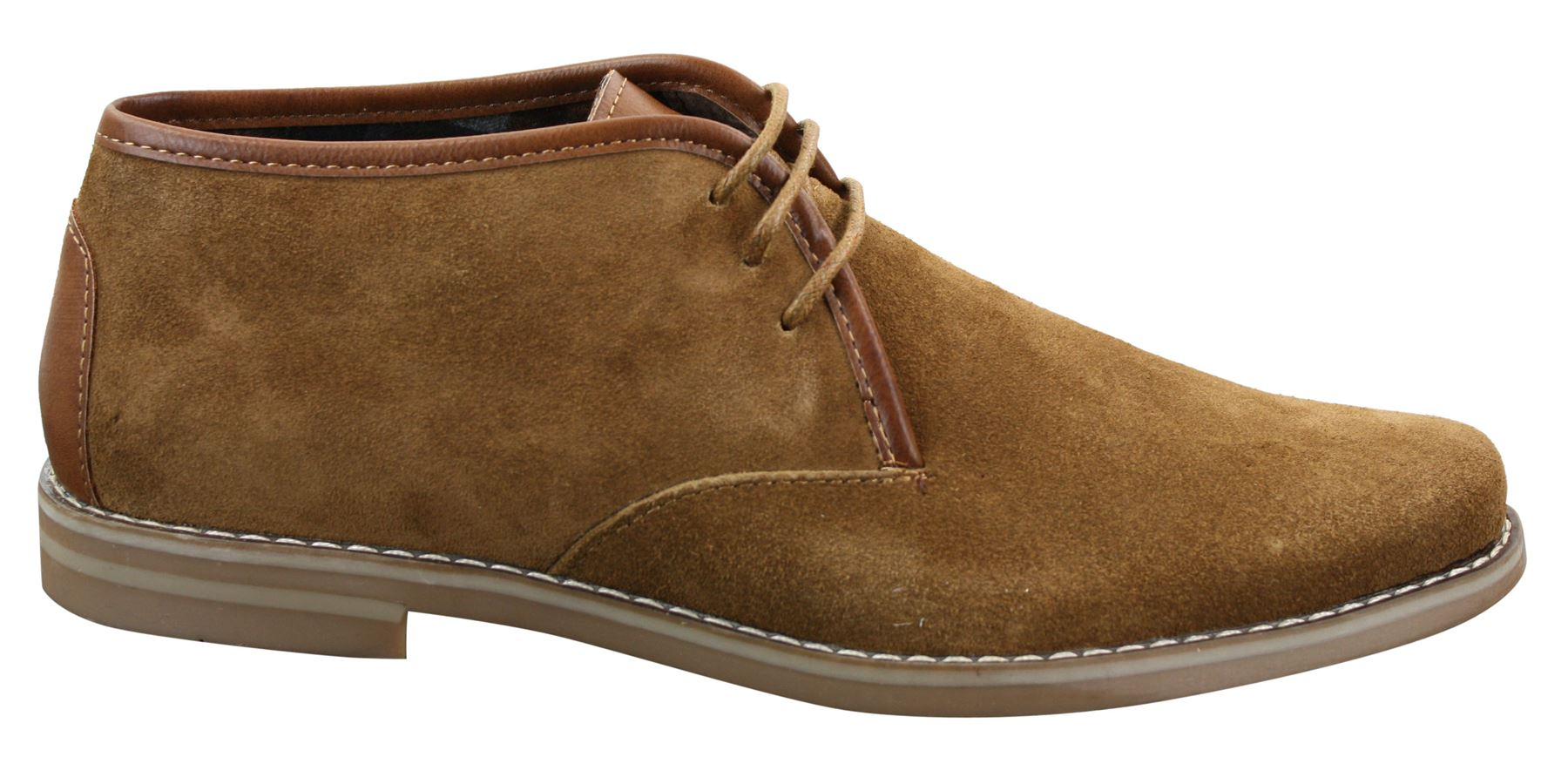 Redtape Brown Suede Shoes Size
