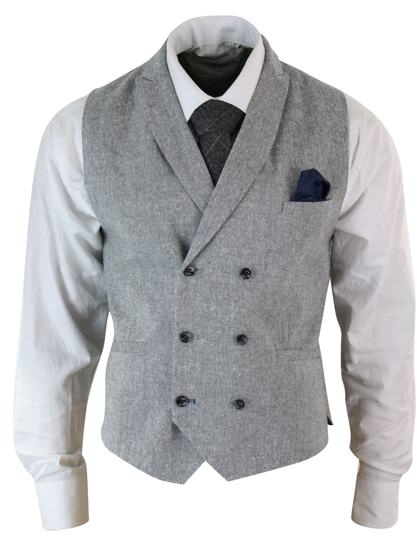 mens vintage peaky blinders double breasted waistcoat. Black Bedroom Furniture Sets. Home Design Ideas
