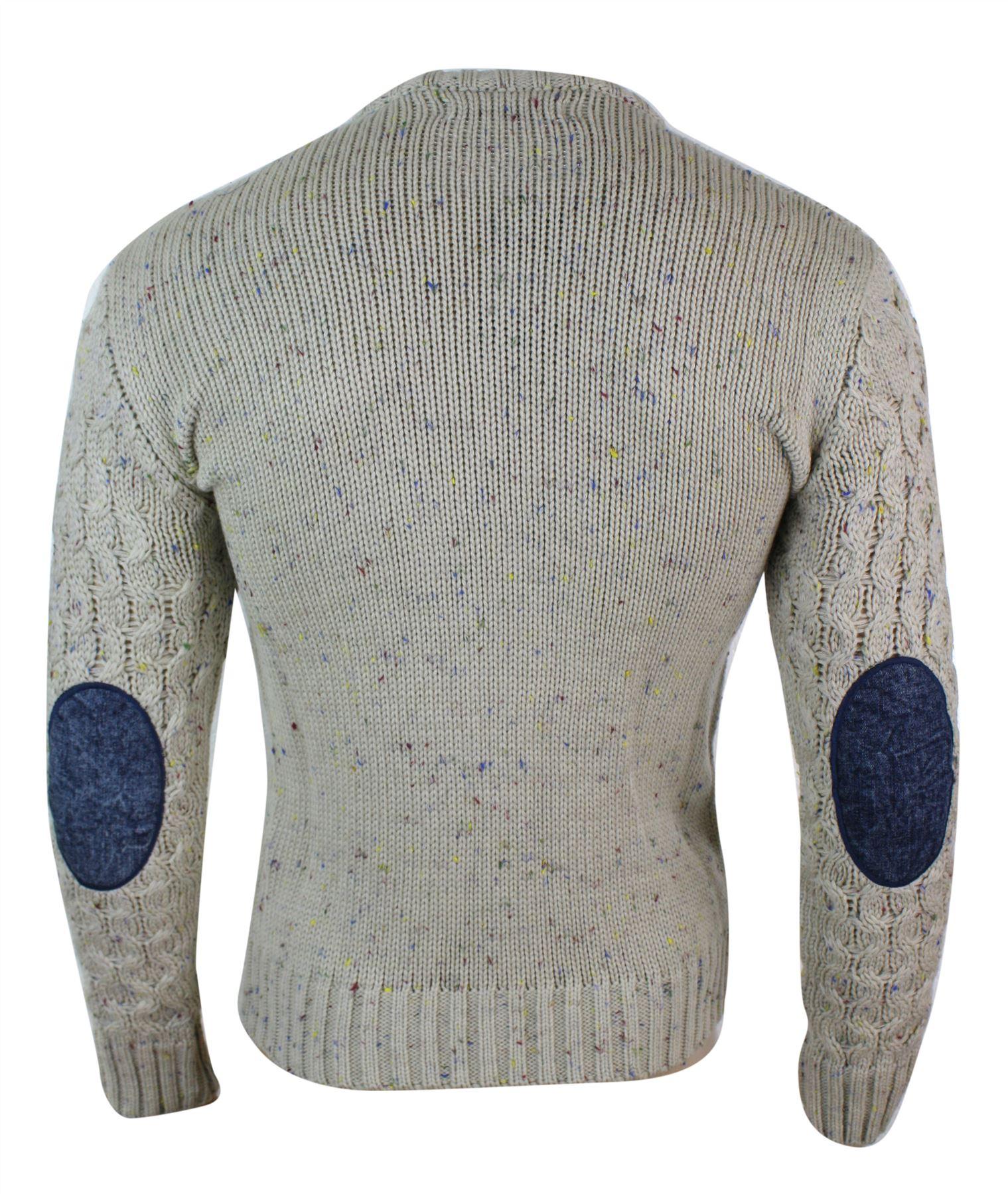 d0d6386e9823e Pull homme tricot laine mélangée chaud et épais look hiver ...