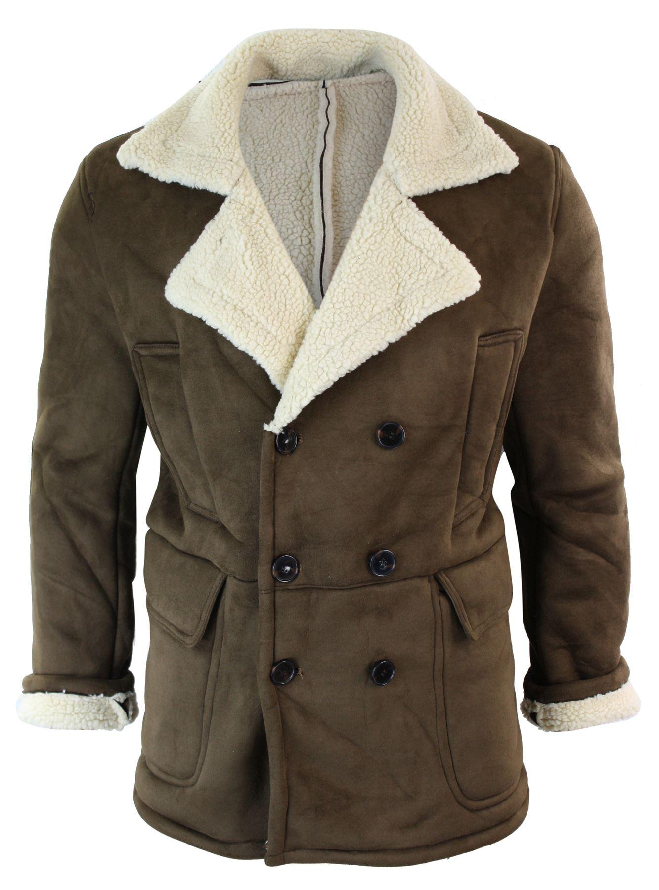 manteau chaud 3 4 fourrure fausse peau de mouton int rieur. Black Bedroom Furniture Sets. Home Design Ideas
