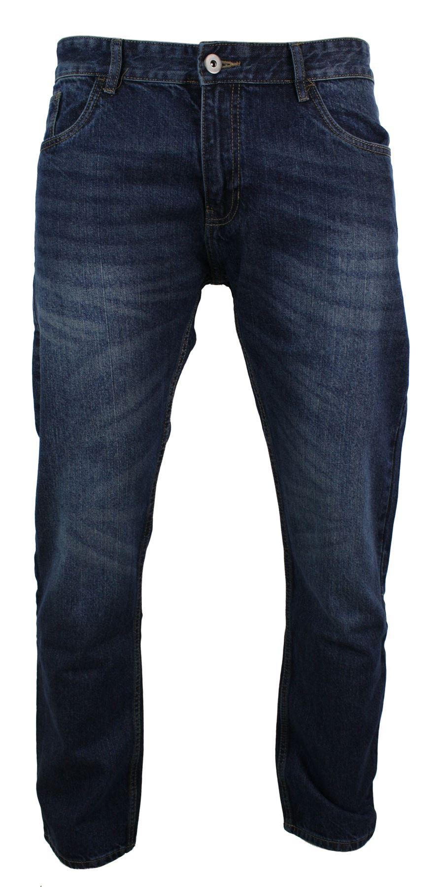 jeans homme coupe droite classique bleu clair fonc noir effet d lav ebay. Black Bedroom Furniture Sets. Home Design Ideas