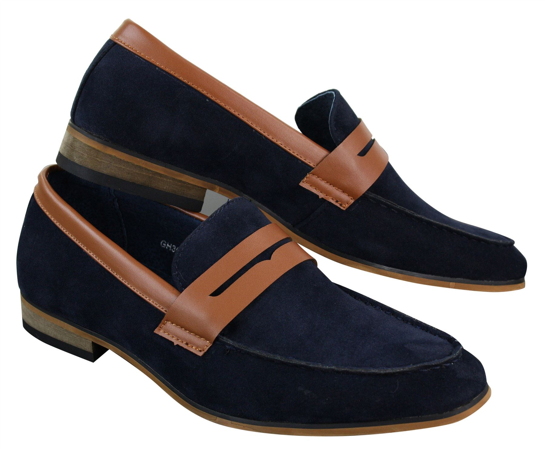 Pelle Senza Scamosciata Da In Lacci Mocassini Uomo Vintage Stile Eleganti 8qIxwR4