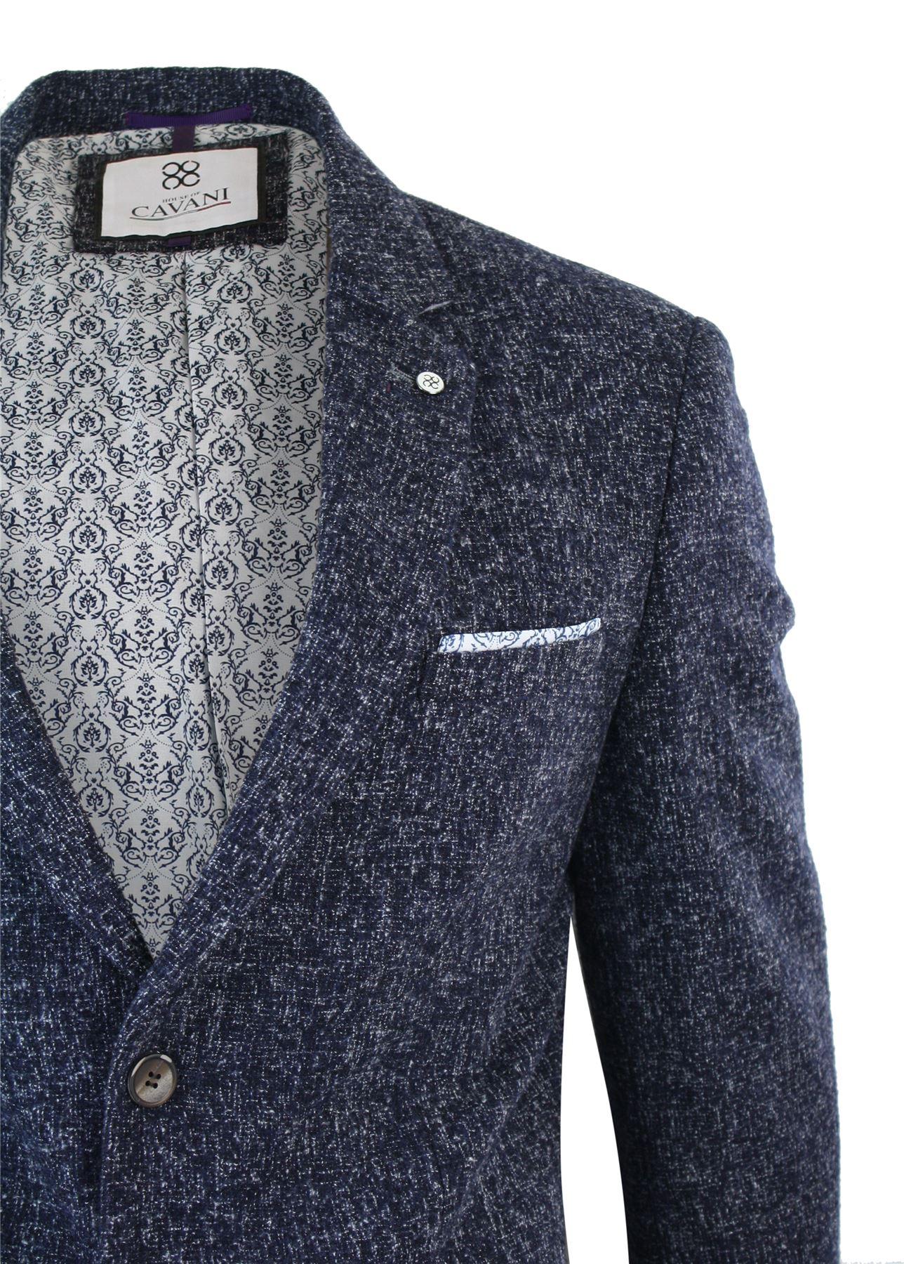 veste ou gilet homme tweed coupe cintr e slim gris vintage r tro peaky blinders ebay. Black Bedroom Furniture Sets. Home Design Ideas