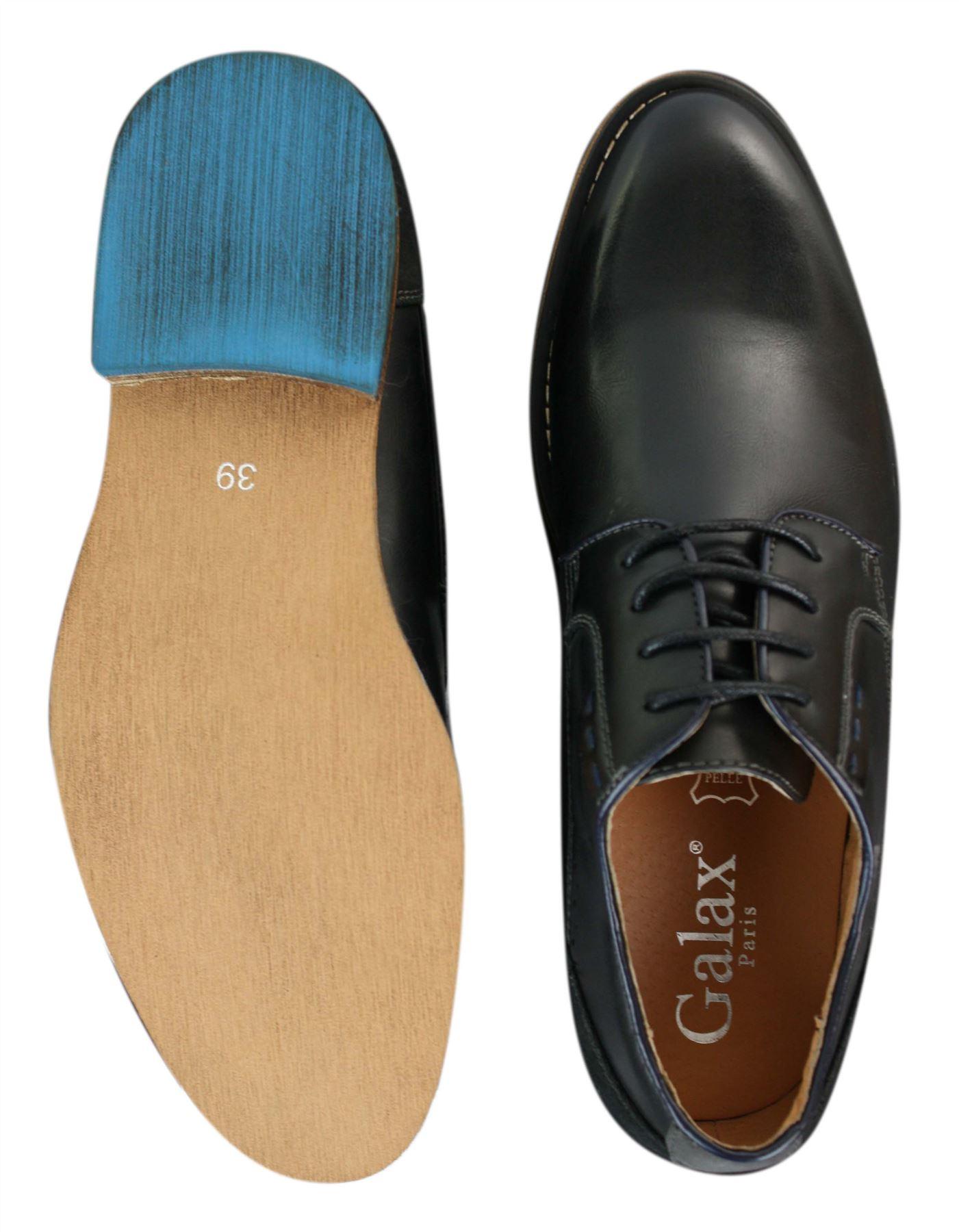 Élégantes Marron À Chaussures Cuir Noir Clair Lacets Daim q8R1w1