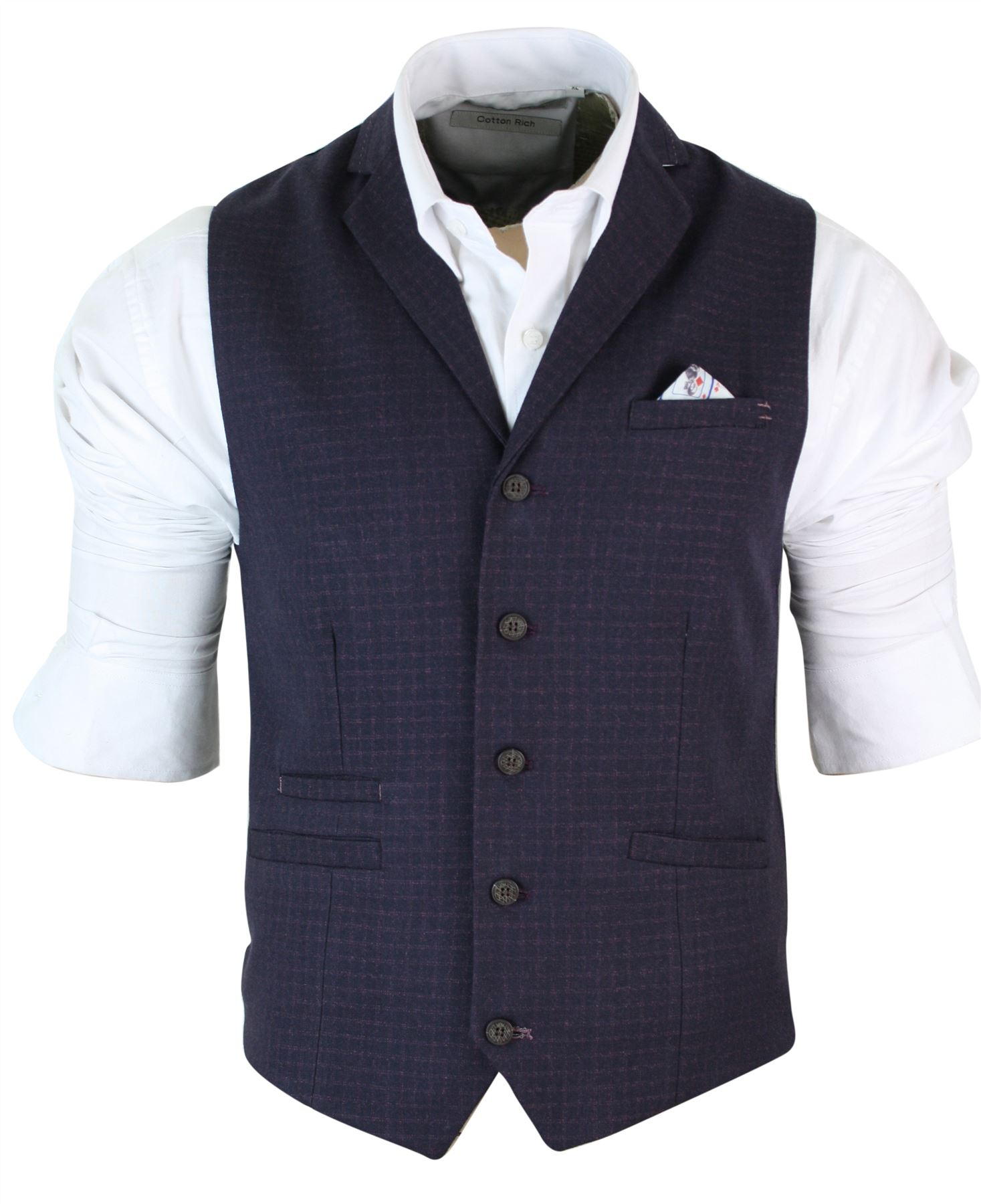 Give your formal look a stylish edge with a waistcoat from Matalan, with free click & collect. Wear with a suit or without a jacket for a modern twist.