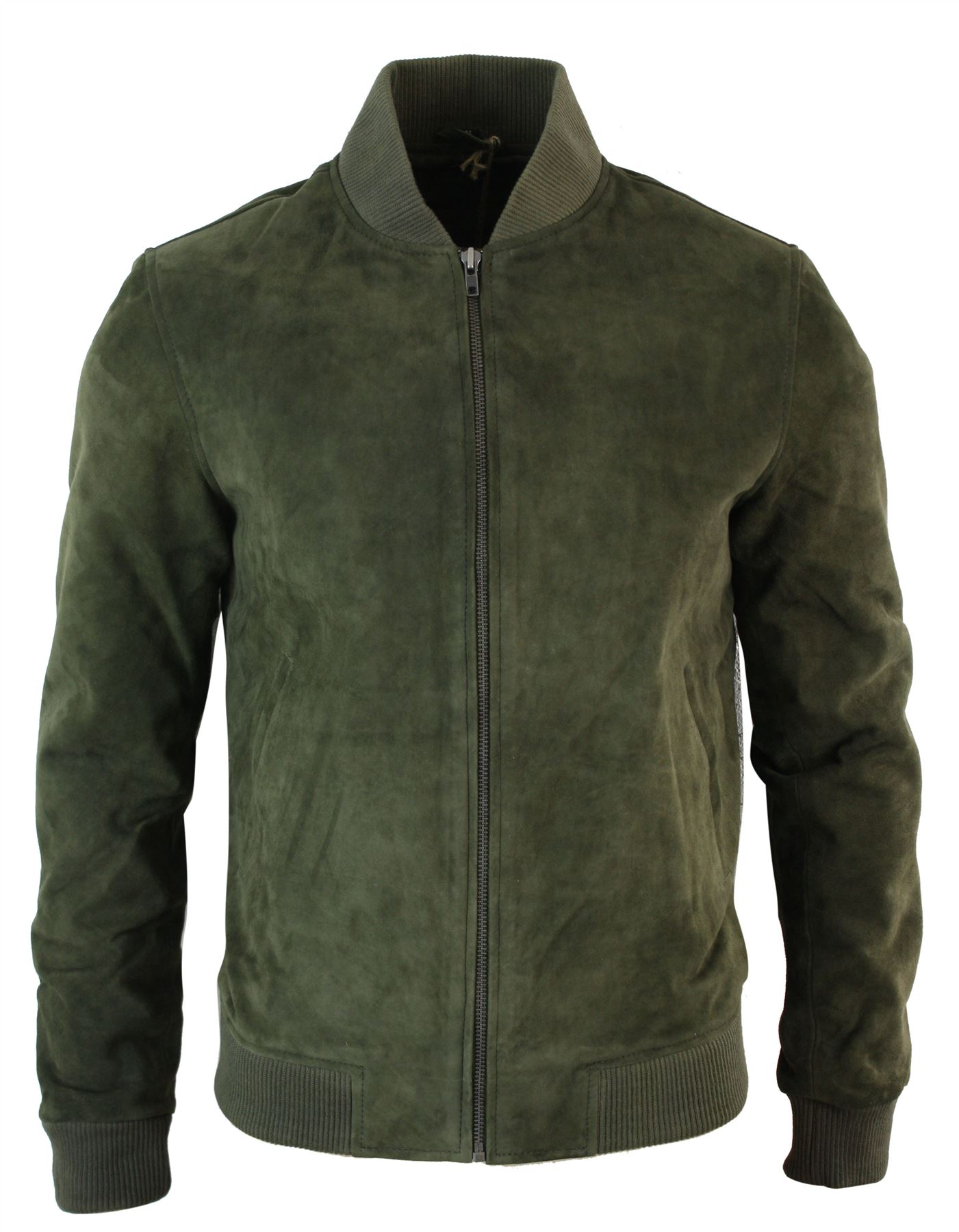 Classic mens leather bomber jackets