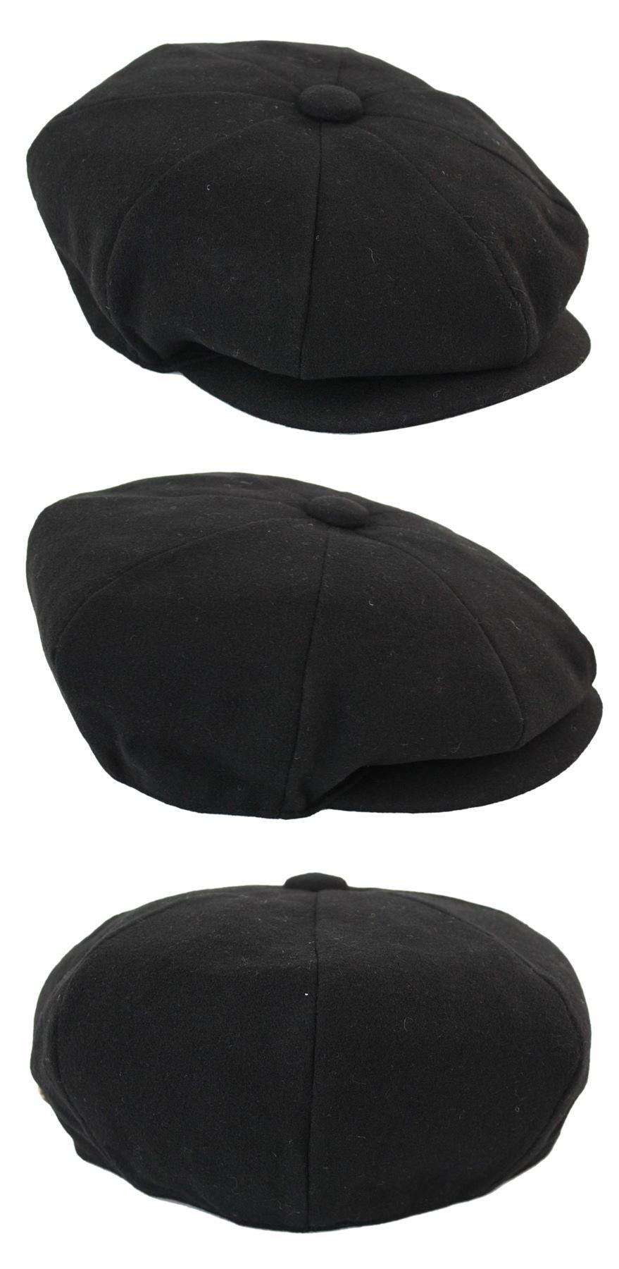 Herrenmütze Tweed Fischgräte Design Peaky Blinders Grandad Stil Rabatt Preis