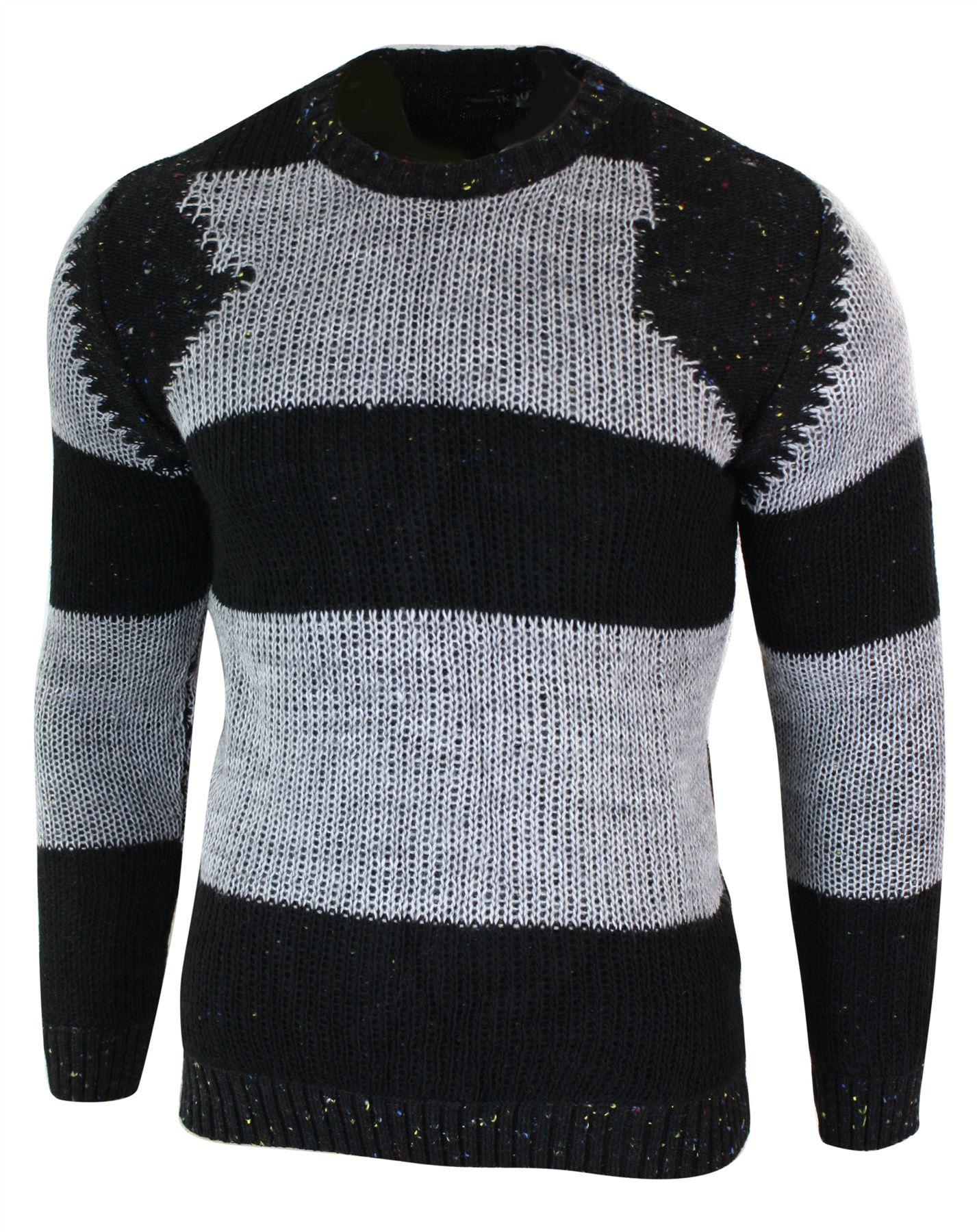 3e9d063a2cf63 Pull homme tricot mailles épaisses chic décontracté gris crème bleu ...