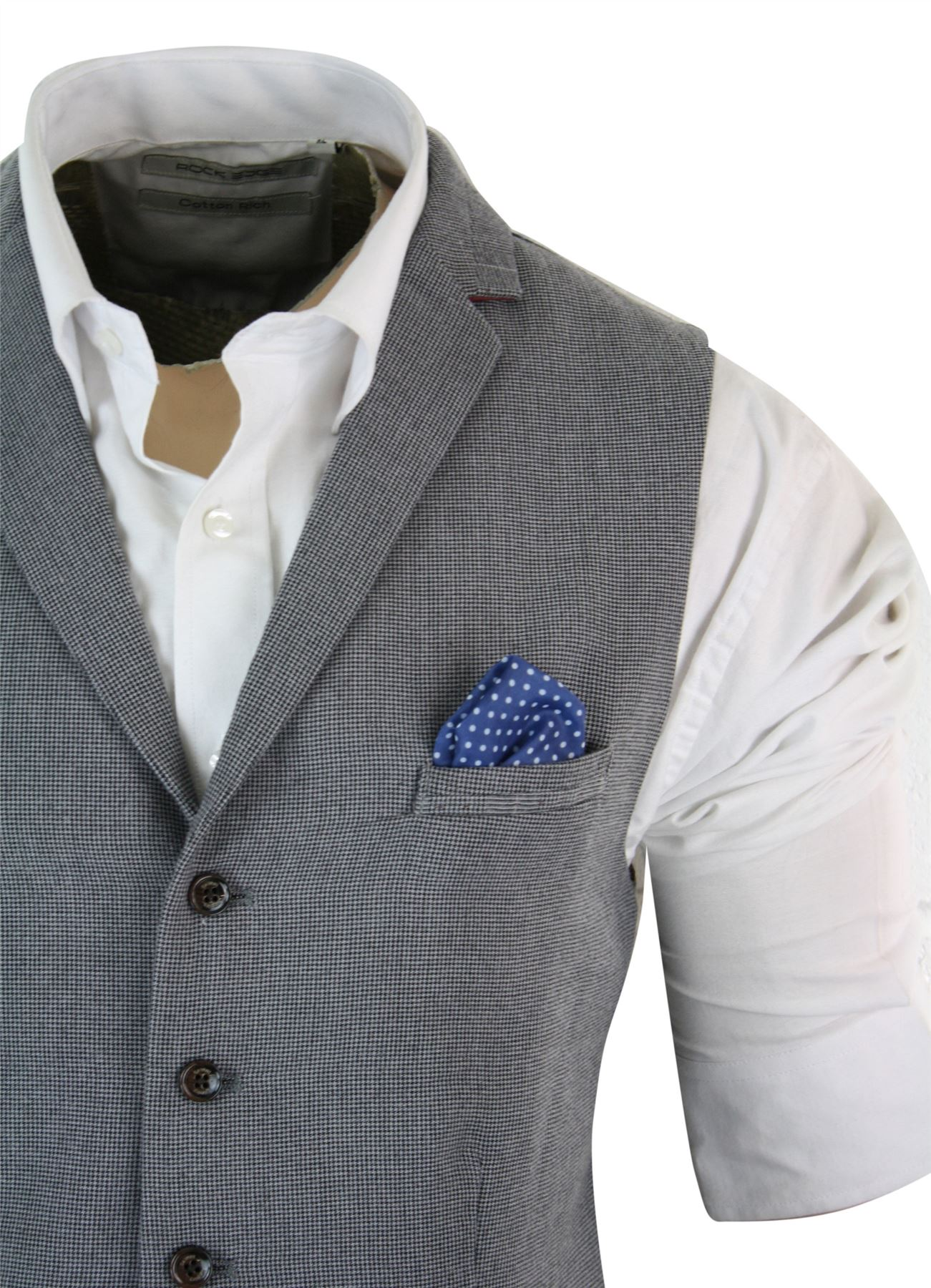 Gilet homme veston tweed chevrons velours c tel laine coupe cintr e r tro ebay - Coupe retro homme ...