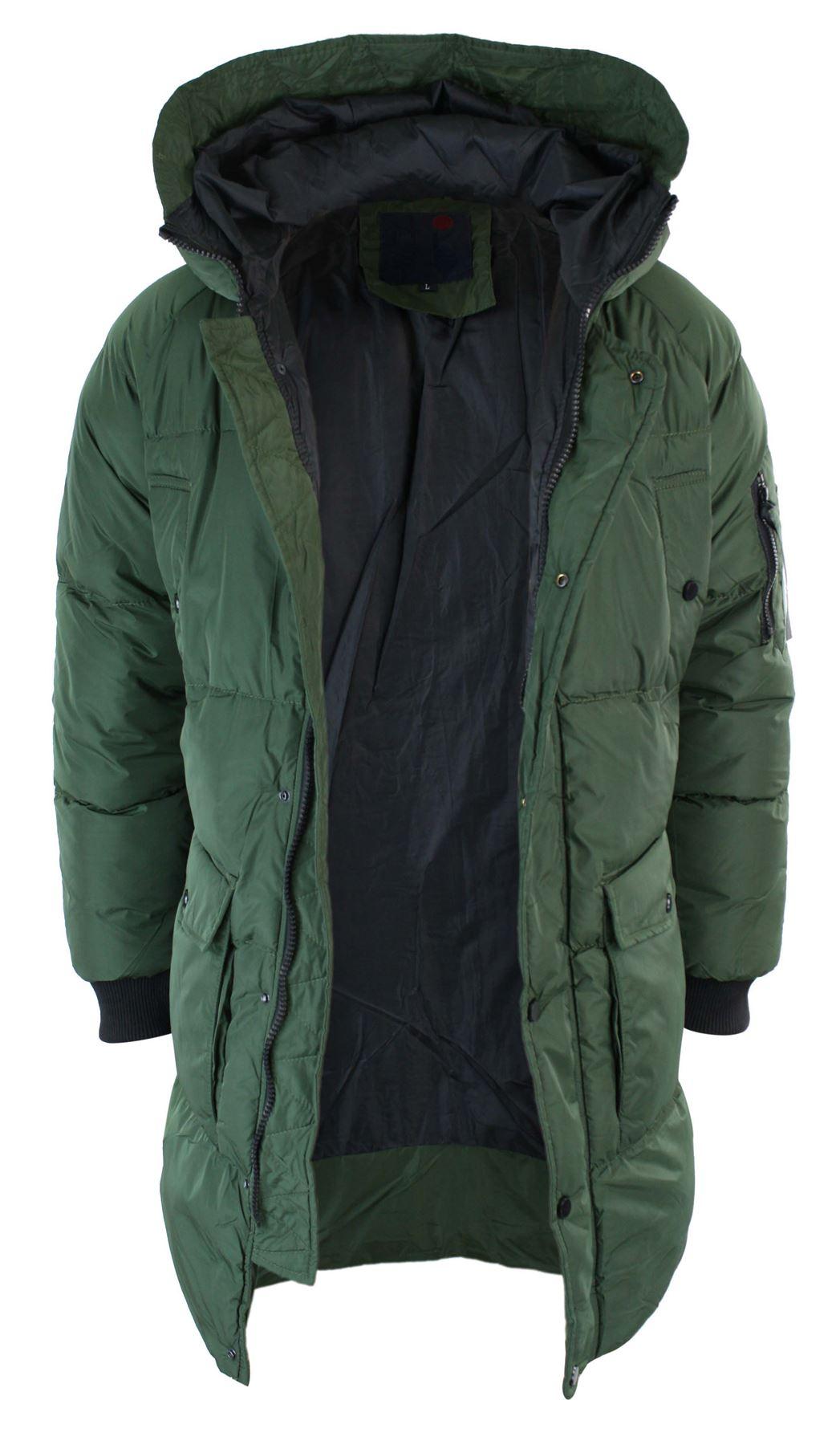 veste longue 3 4 doudoune matelass e capuche manteau chaud. Black Bedroom Furniture Sets. Home Design Ideas