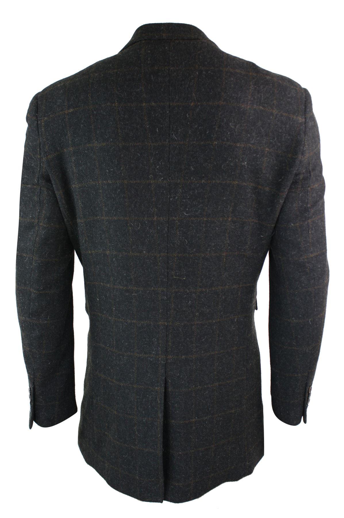 manteau homme longueur 3 4 tweed style peaky blinders. Black Bedroom Furniture Sets. Home Design Ideas
