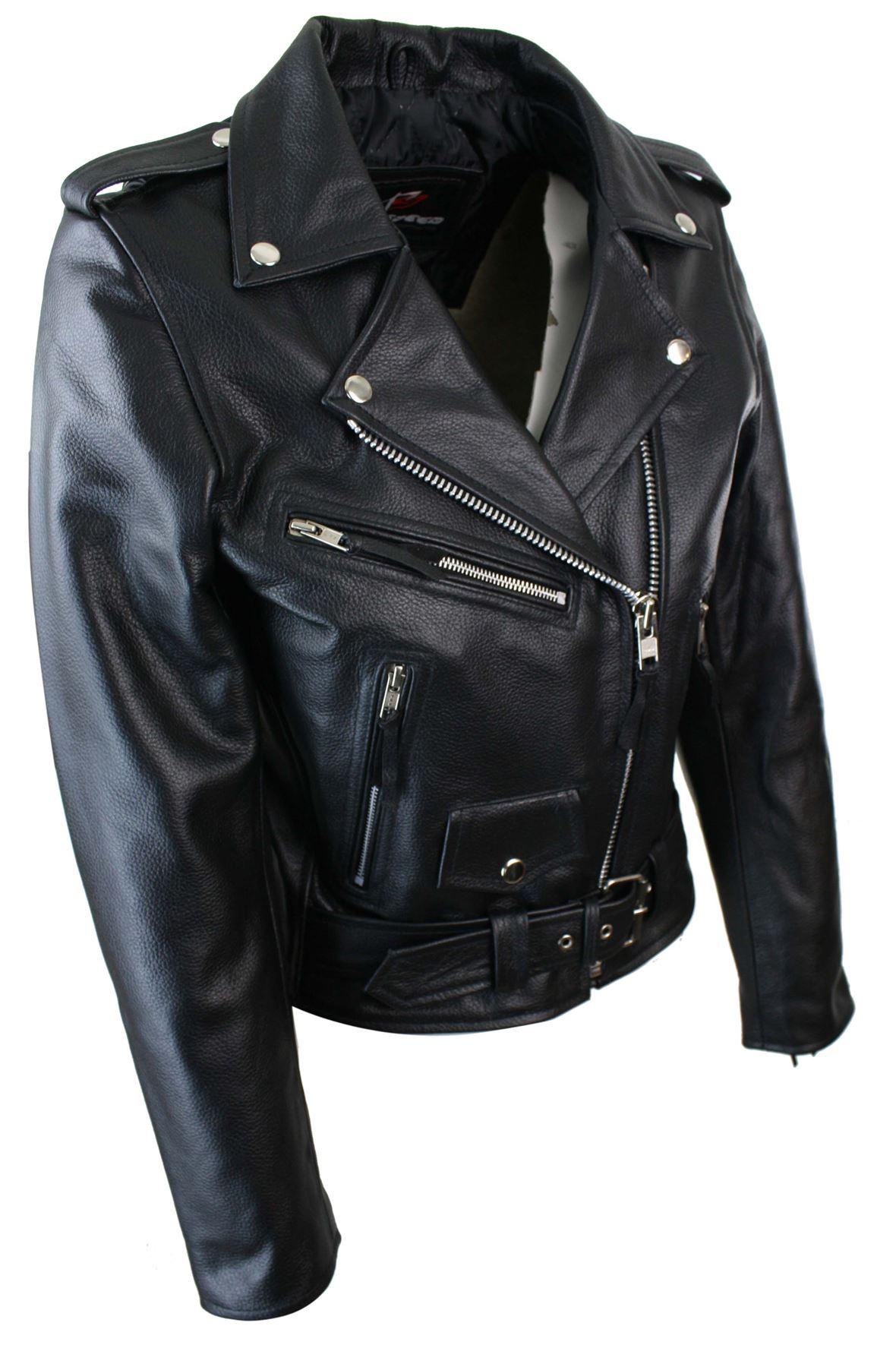 blouson femme cuir v ritable perfecto classique biker. Black Bedroom Furniture Sets. Home Design Ideas