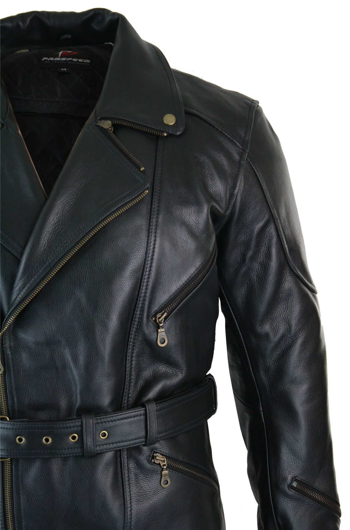 Mens long leather jackets