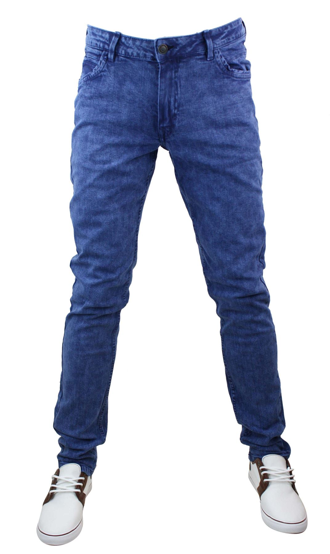 jeans homme denim designer coupe cintr e skinny stretch 100 coton ebay. Black Bedroom Furniture Sets. Home Design Ideas