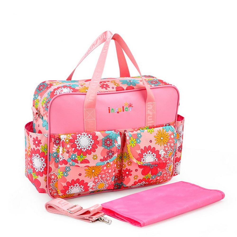 Large Baby Mummy Waterproof Nappy Changing Bags With