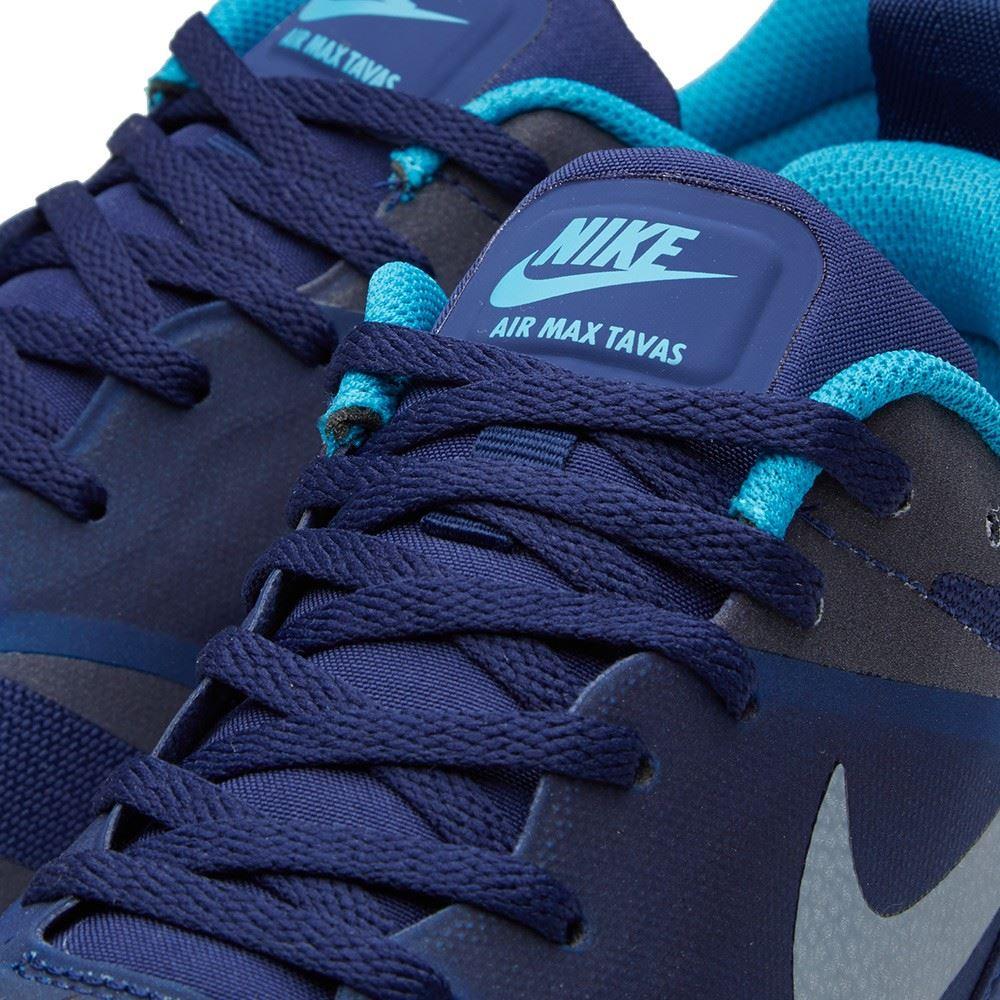 sale retailer 0b37c cc789 Nike-Air-Max-Tavas-Loyal-Blue-amp-White-