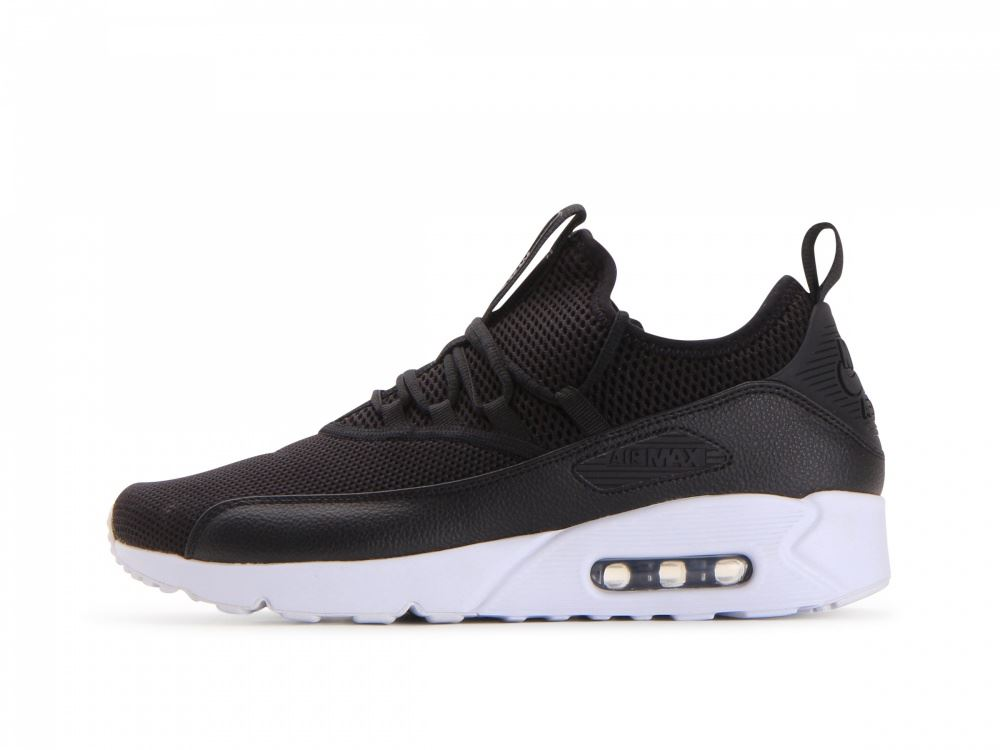 af97bac3d0a73 Details about Nike Air Max 90 EZ Black Black-White Mens AO1745 001 UK 6-11