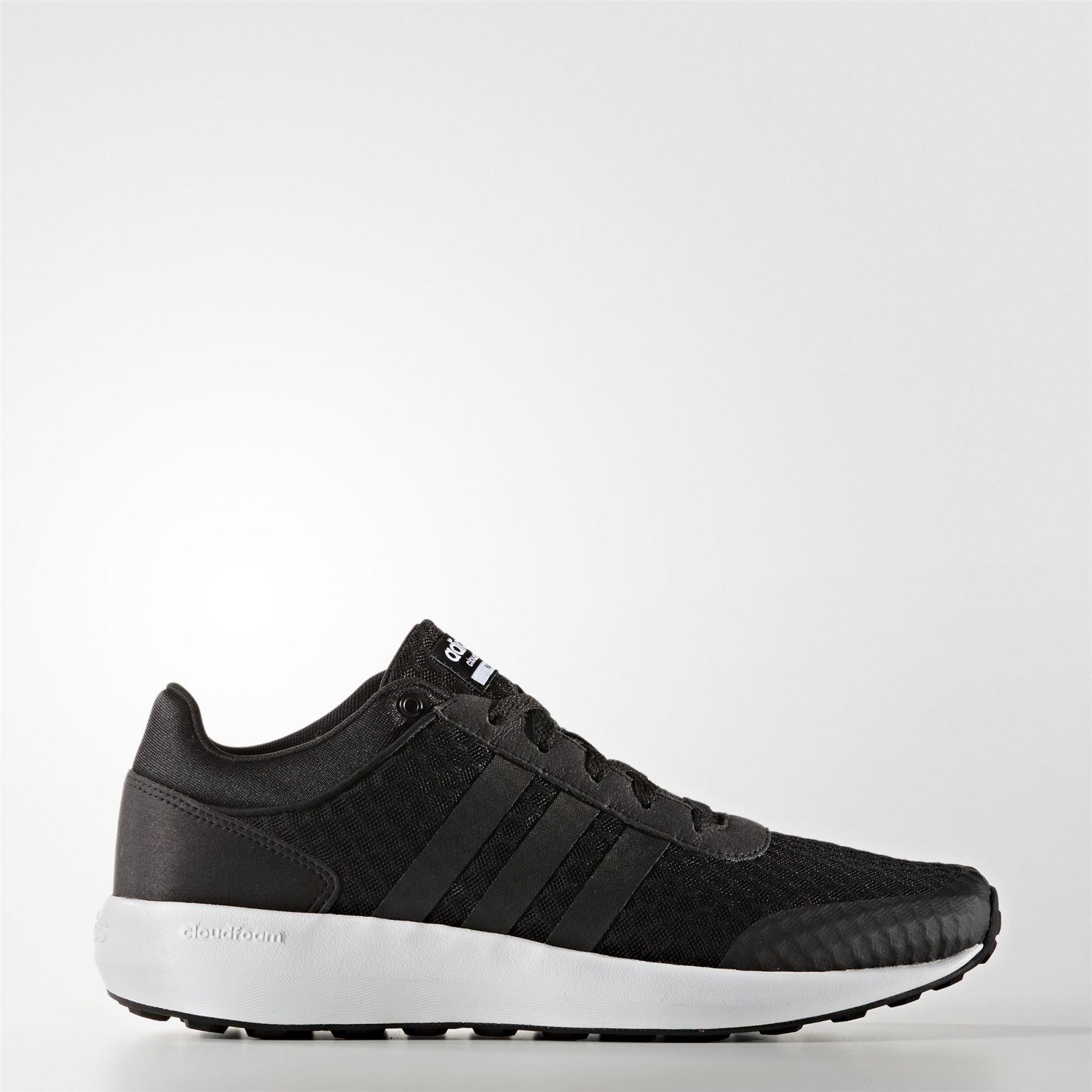 adidas cloudfoam race zwart