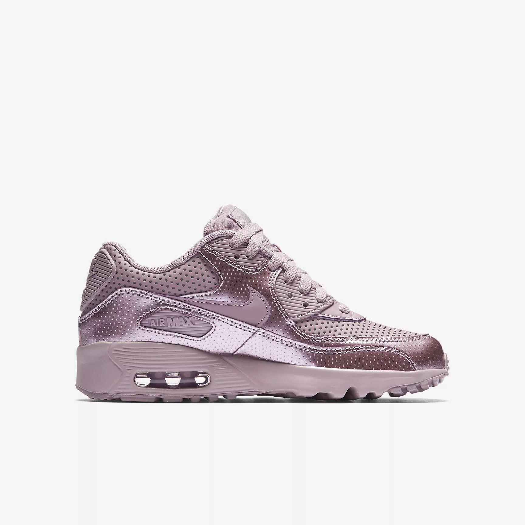 best sneakers d2ce3 fb784 Nike Air Max 90 SE LTR (GS) Elemental Rose 859633 600 Girls UK 3-5.5