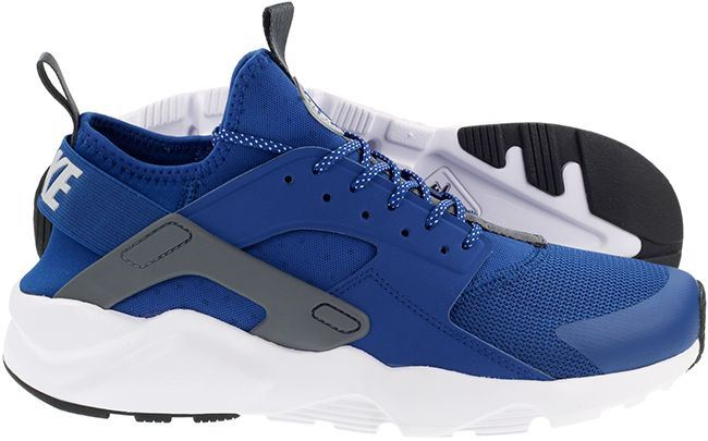 sale retailer 83f8c c6a11 Details about Nike Air Huarache Run Ultra Gym Blue/Wolf Grey Mens UK 6-11