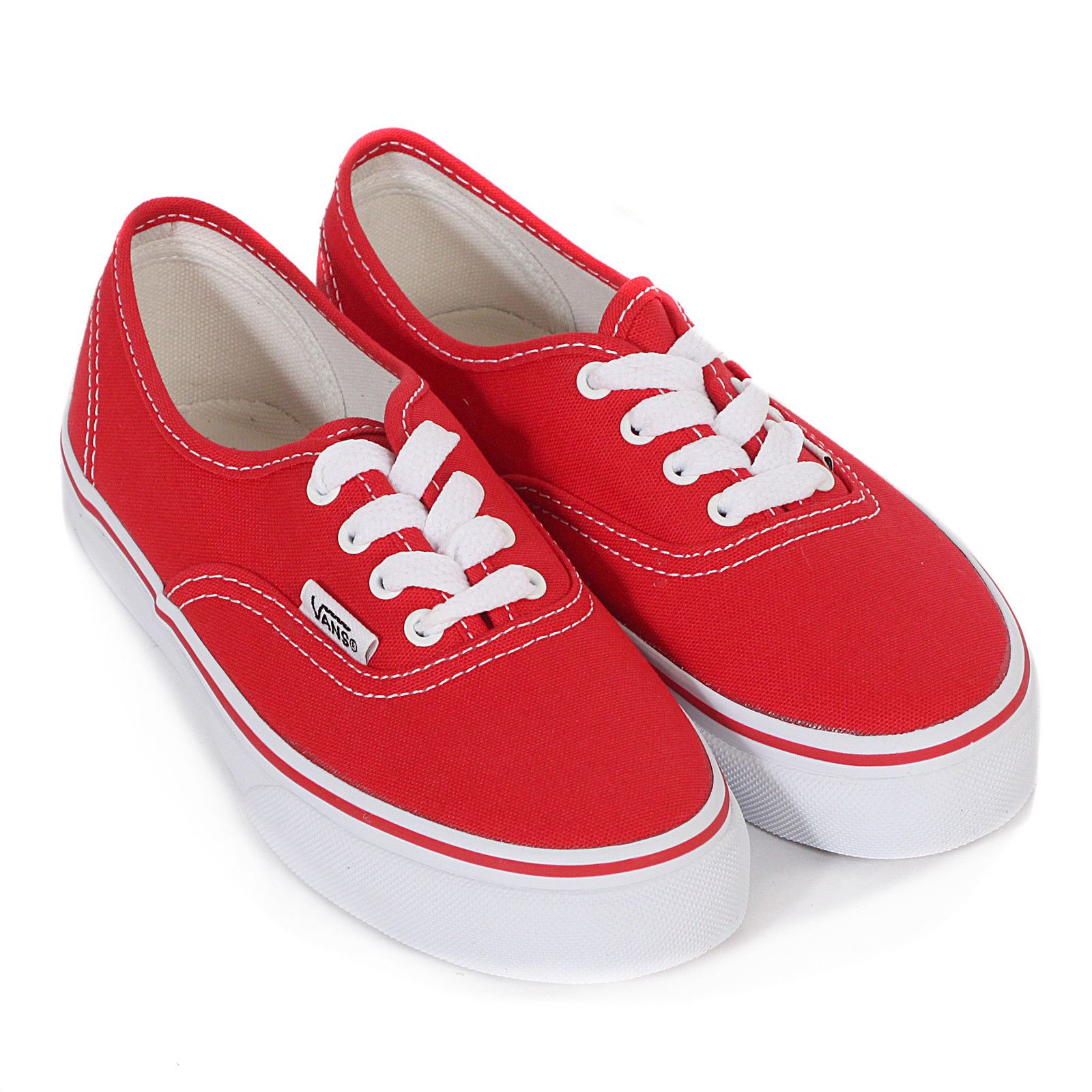 Vans Authentic Rosso VN0 EE0RED Kids UK 103