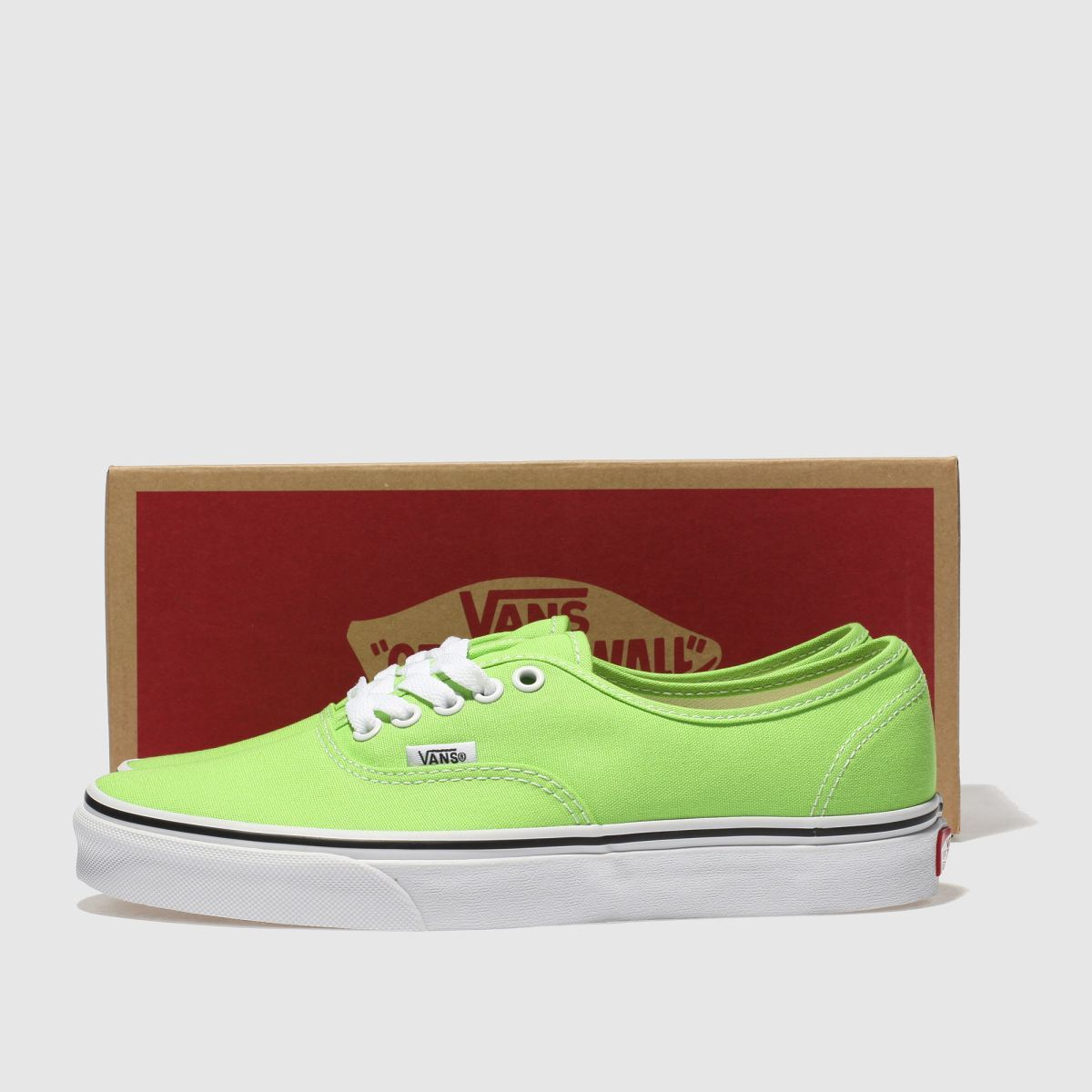 Details about Vans Authentic Trainers In Green Women's UK 4