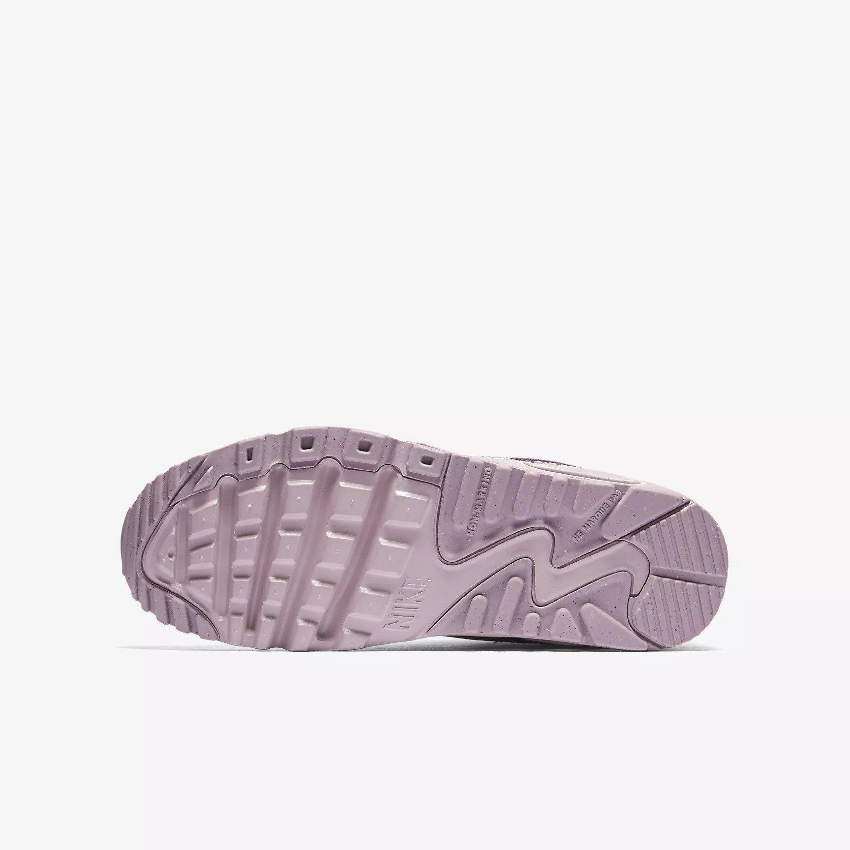 Details about Nike Air Max 90 SE LTR (GS) Elemental Rose 859633 600 Girls UK 3 5.5