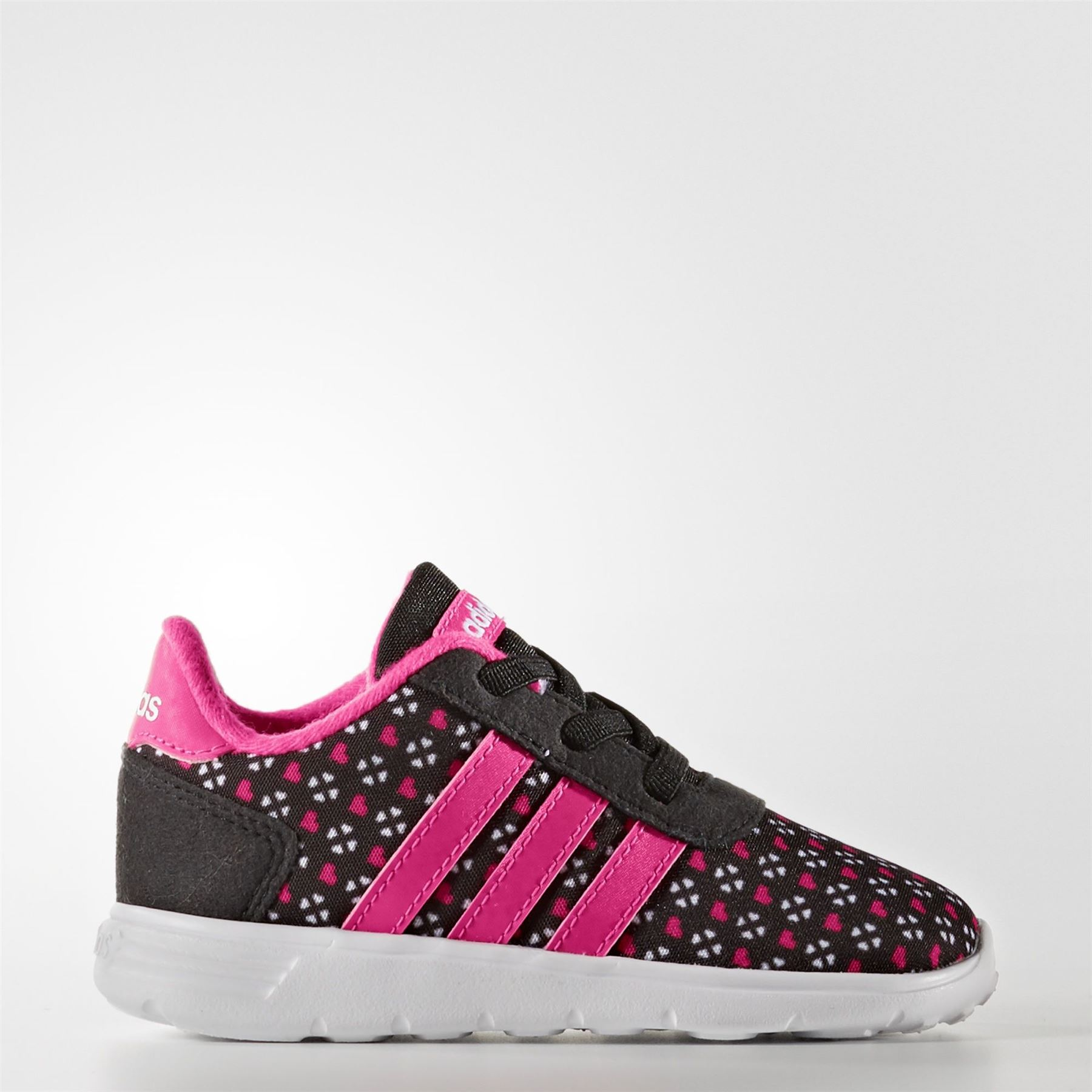 ADIDAS-LITTLE-RACER-INFANTS-AW5121-PINK-amp-BLACK-