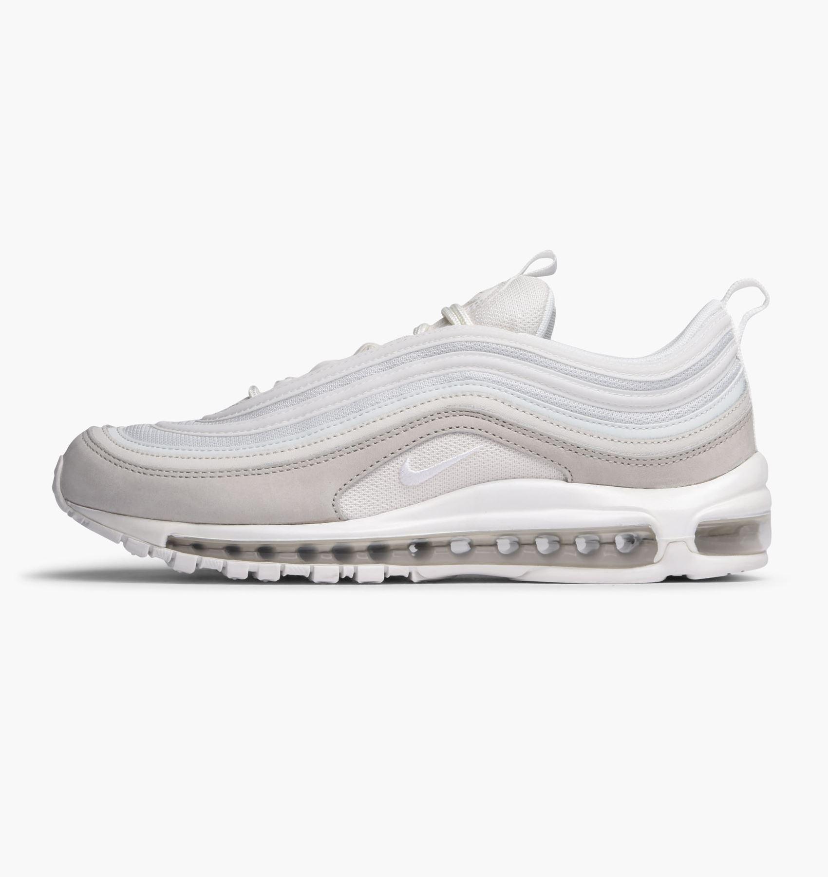 quality design 20259 aa199 Details about Nike Air Max 97 Premium Light Bone   Summit White 312834 006  Mens UK 9-10.5