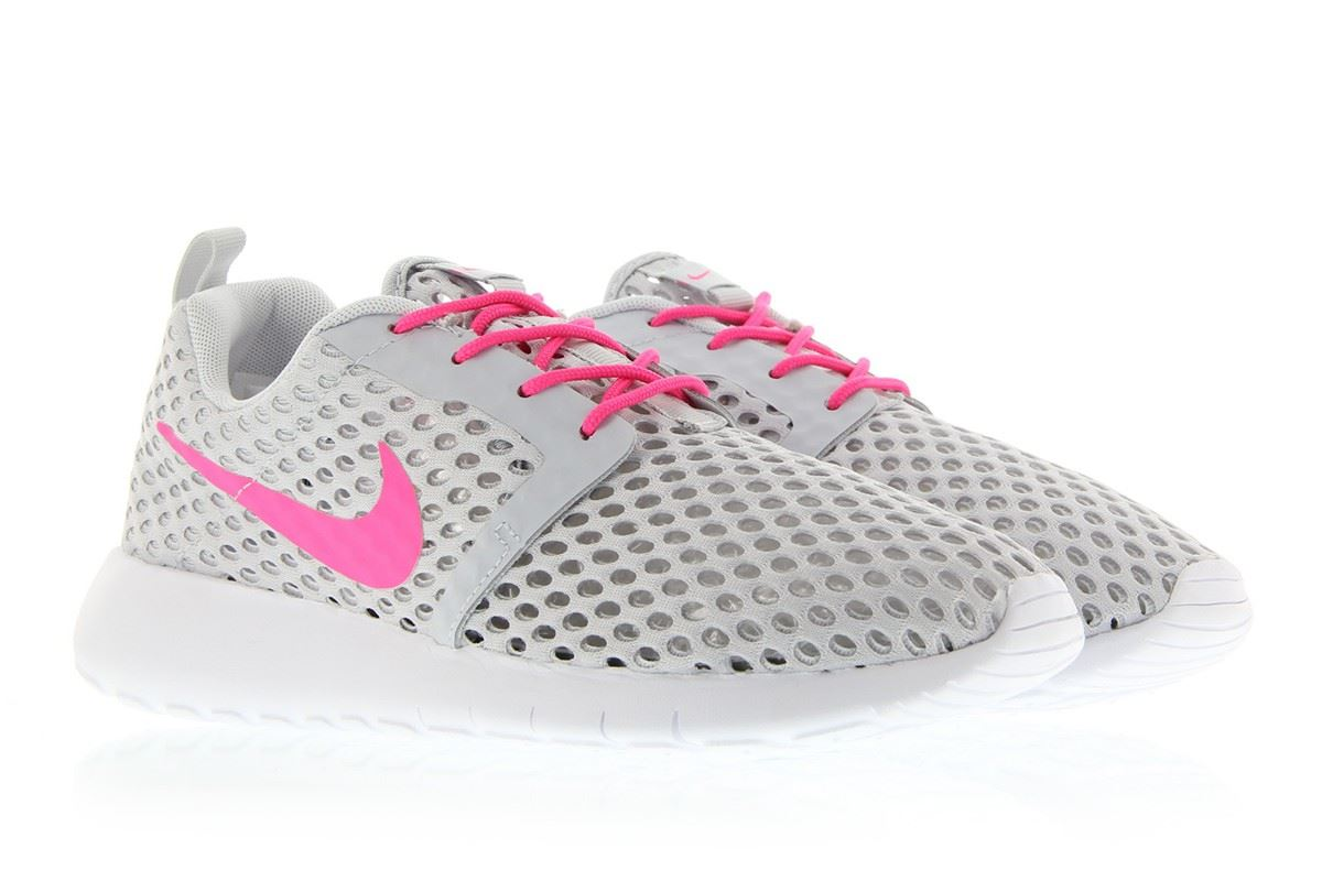 huge discount 273b3 af352 ... where to buy nike roshe one flight weight junior grey pink girls 705486  006 uk 3