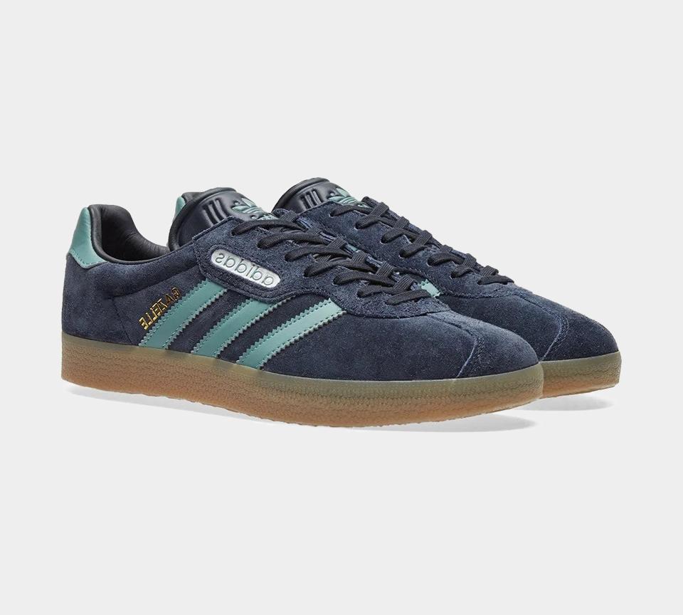 Adidas Gazelle Blue CG3275 Mens Trainers UK 10-13   eBay