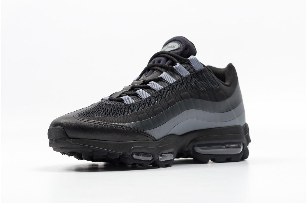 nike air max 95 ultra essential black/grey
