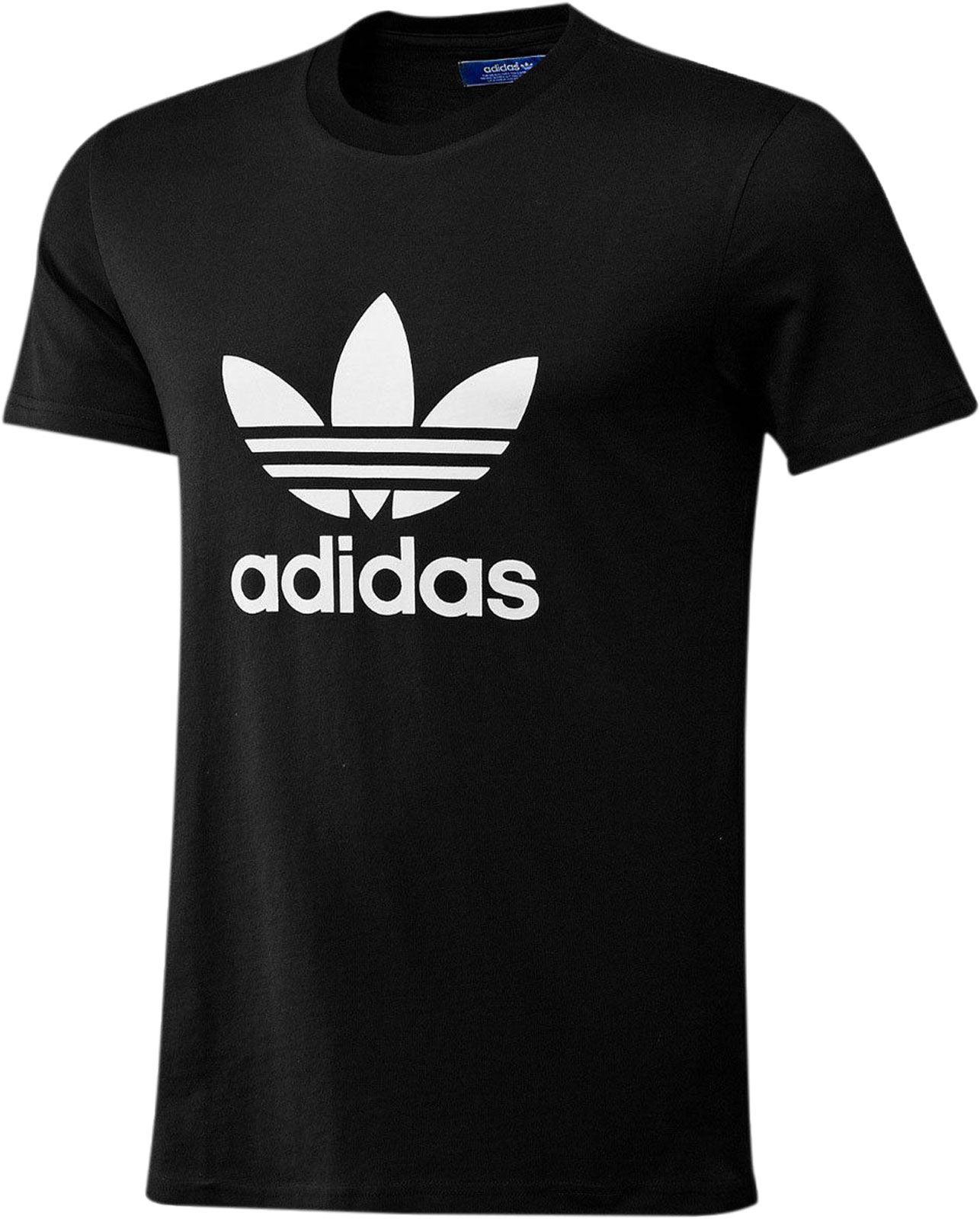 Details about Adidas Originals Trefoil Tee Crew Neck Cotton Casual T Shirt All Size S M L XL