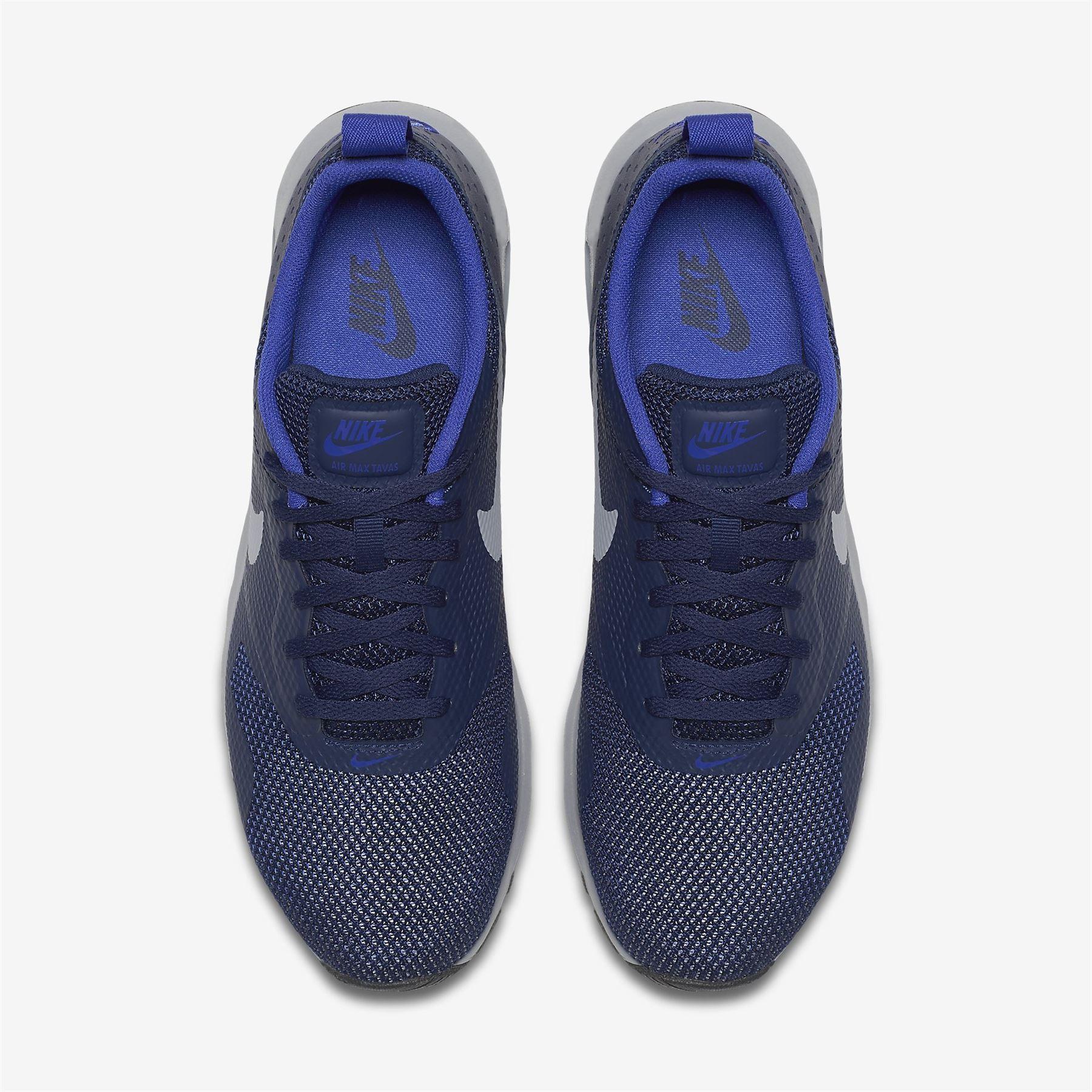 wholesale dealer faadc 63d8f NIKE AIR MAX TAVAS BLUE GREY 705149 408 MEN S UK 6-11