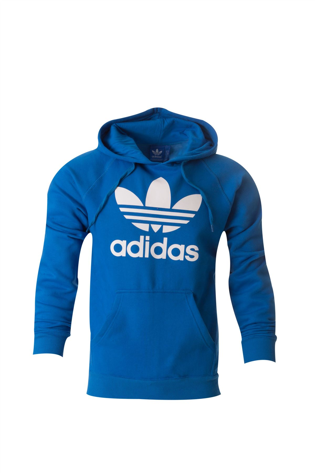 Adidas Originals Mens Trefoil Fleece Hoodie Hooded Sweatshirt Top Size S-XL c582cd6cd