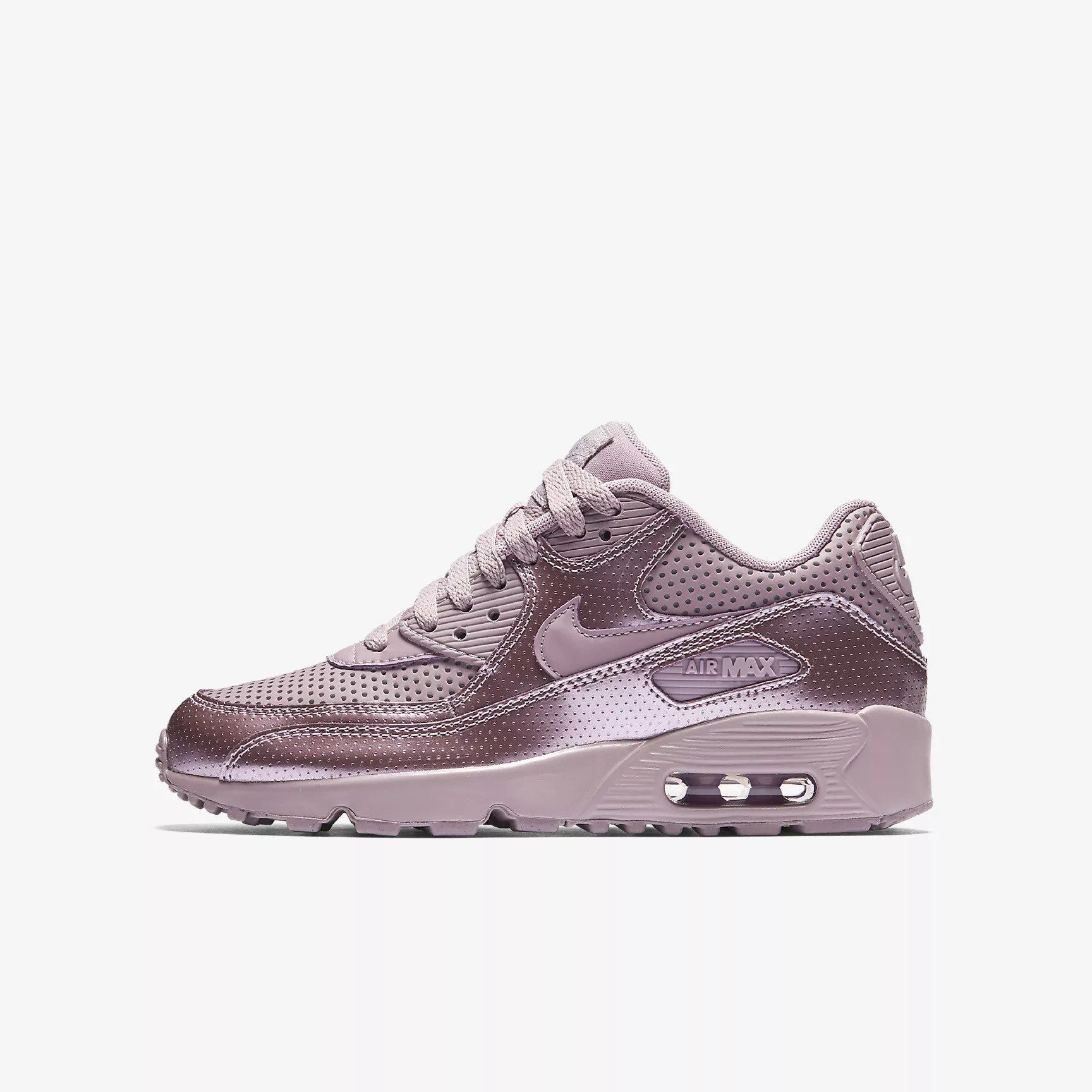 9c505d55fe57 Details about Nike Air Max 90 SE LTR (GS) Elemental Rose 859633 600 Girls  UK 3-5.5