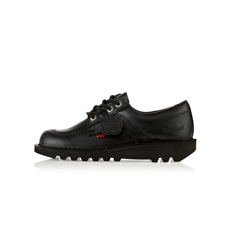 Kickers Classic Lo Black Boots Shoes Mens Women's & & & Youth Back To School b67ede