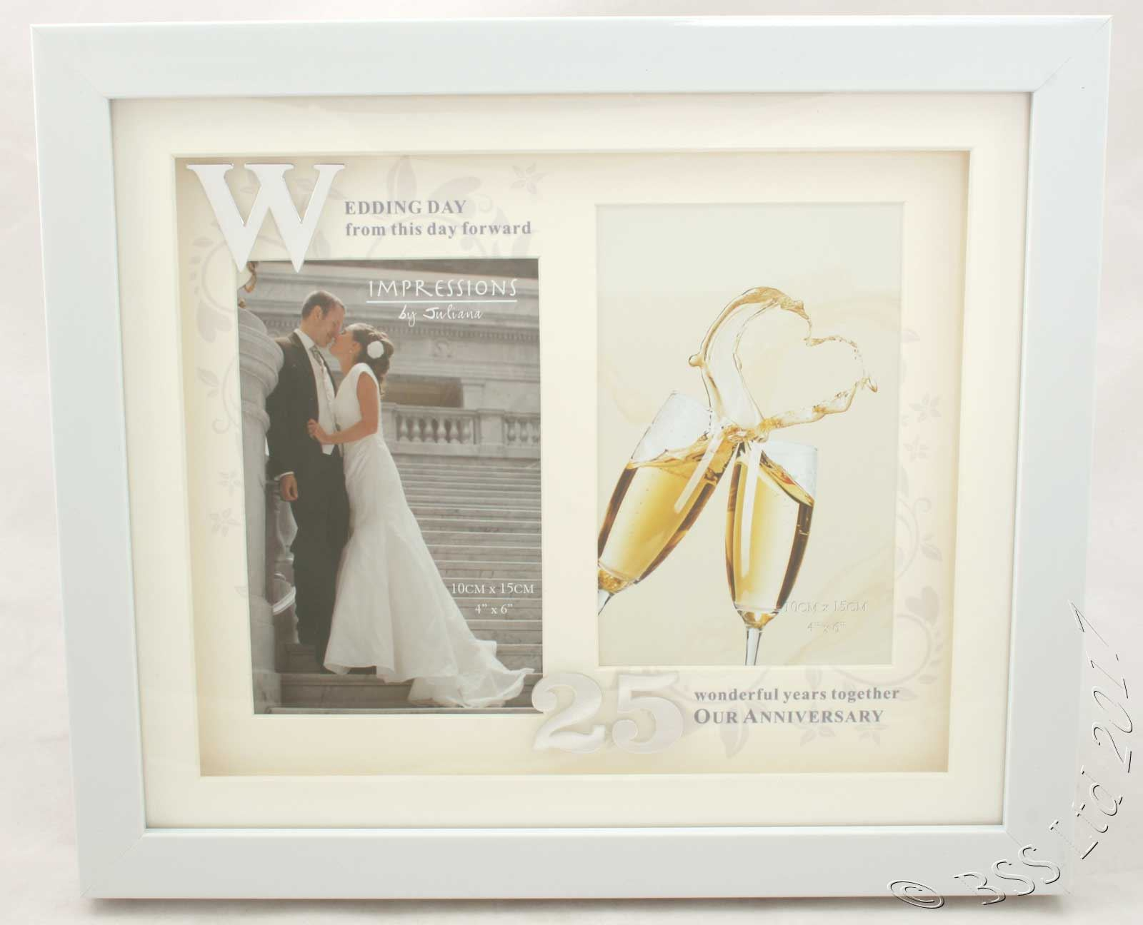 Wedding Anniversary Photo Then & Now Frame 25th 40th 50th 60th   eBay