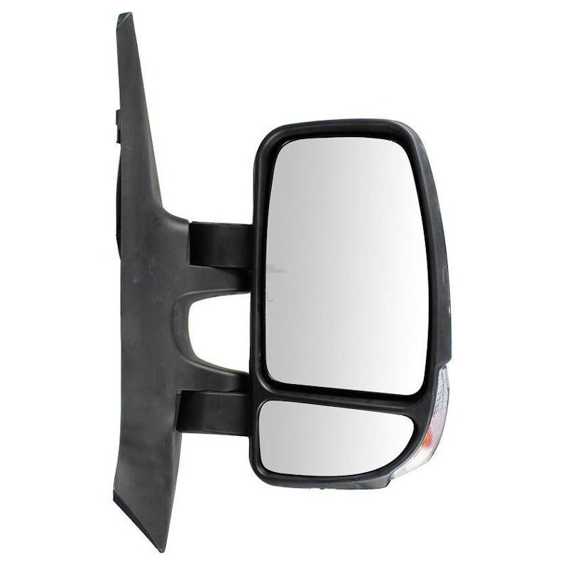VAUXHALL MOVANO MK1 2003-/>2010 RIGHT SIDE WING//DOOR MIRROR COVER BLACK