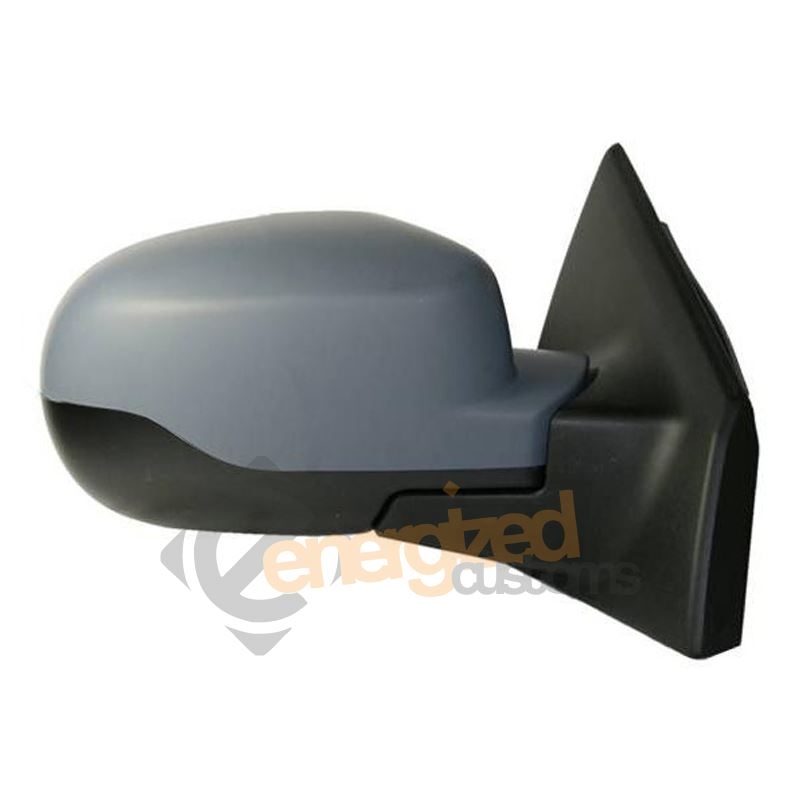 RENAULT CLIO 2005-2009  ELECTRIC  BLACK  DOOR WING MIRROR LH LEFT N//S NEAR SIDE