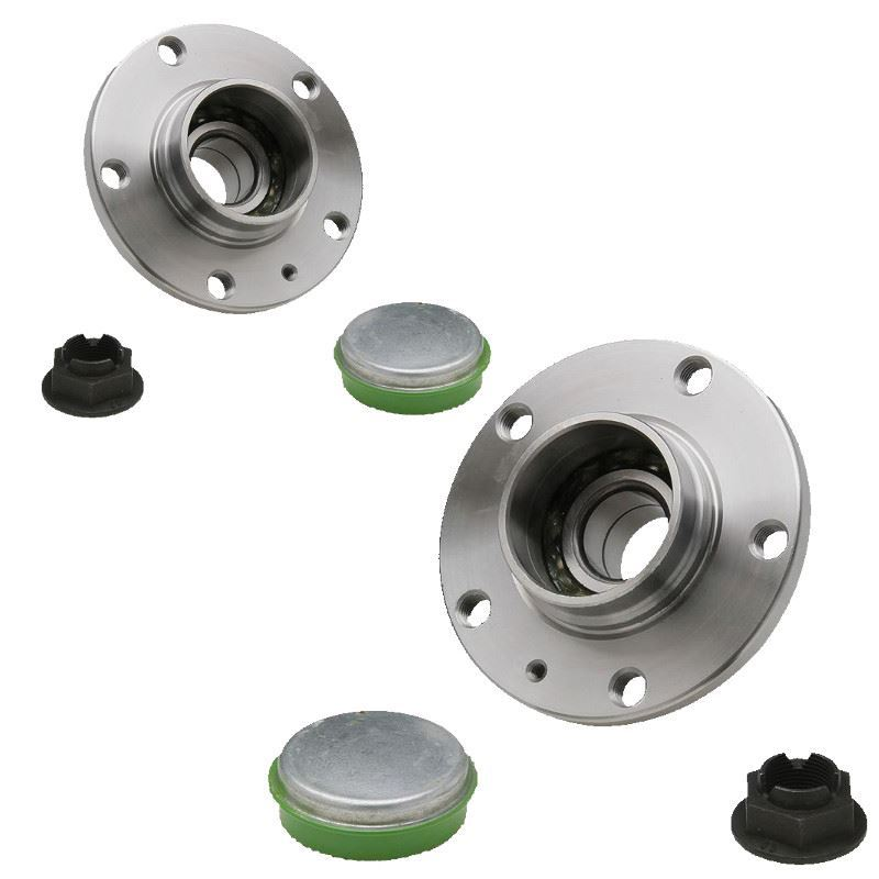 Vauxhall Corsa E Hatchback 10//2014-/> Rear Wheel Bearing Hub With Rear Drums ABS