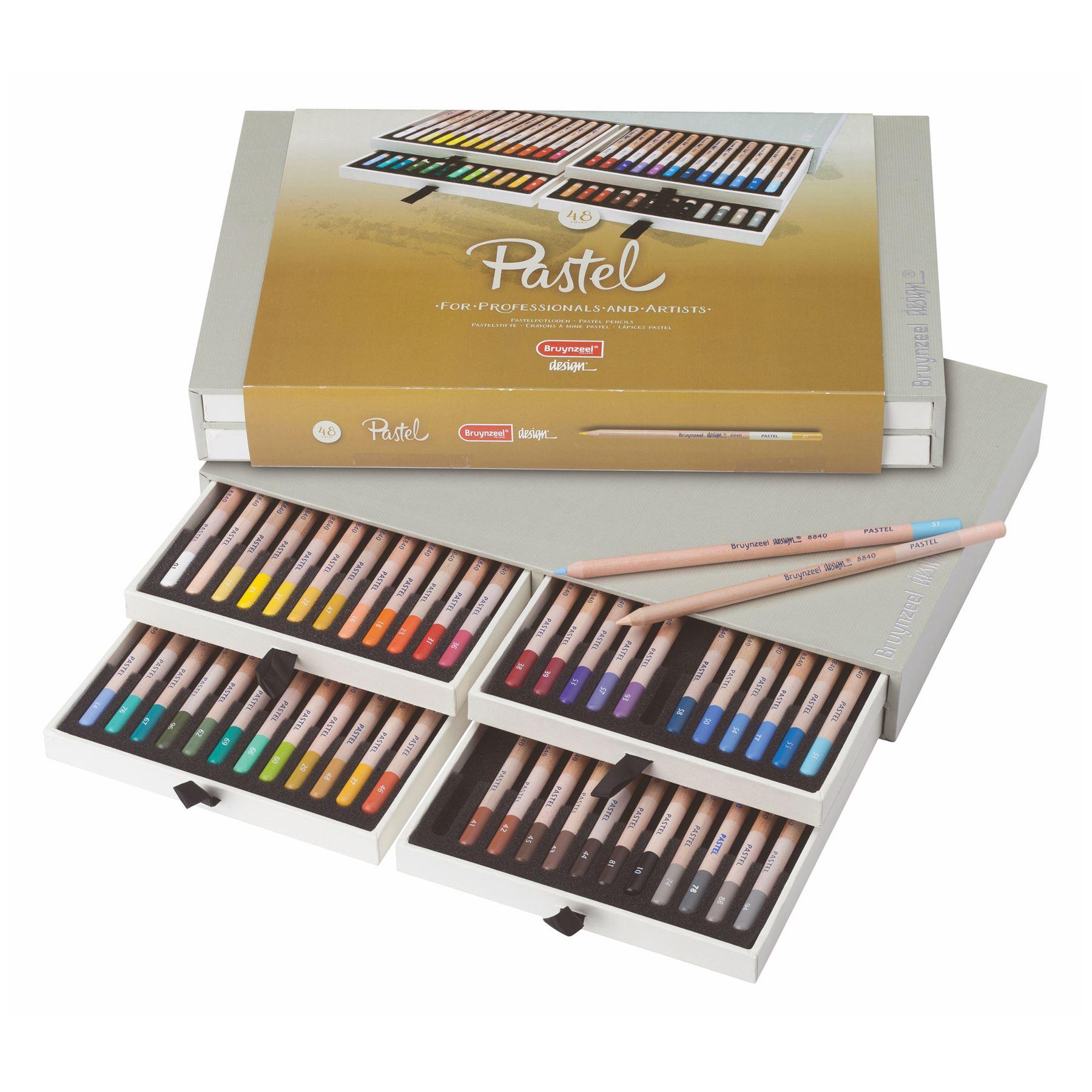 Ebay Uk: Artists Pastel Pencils Bruynzeel Professional Soft Pencil