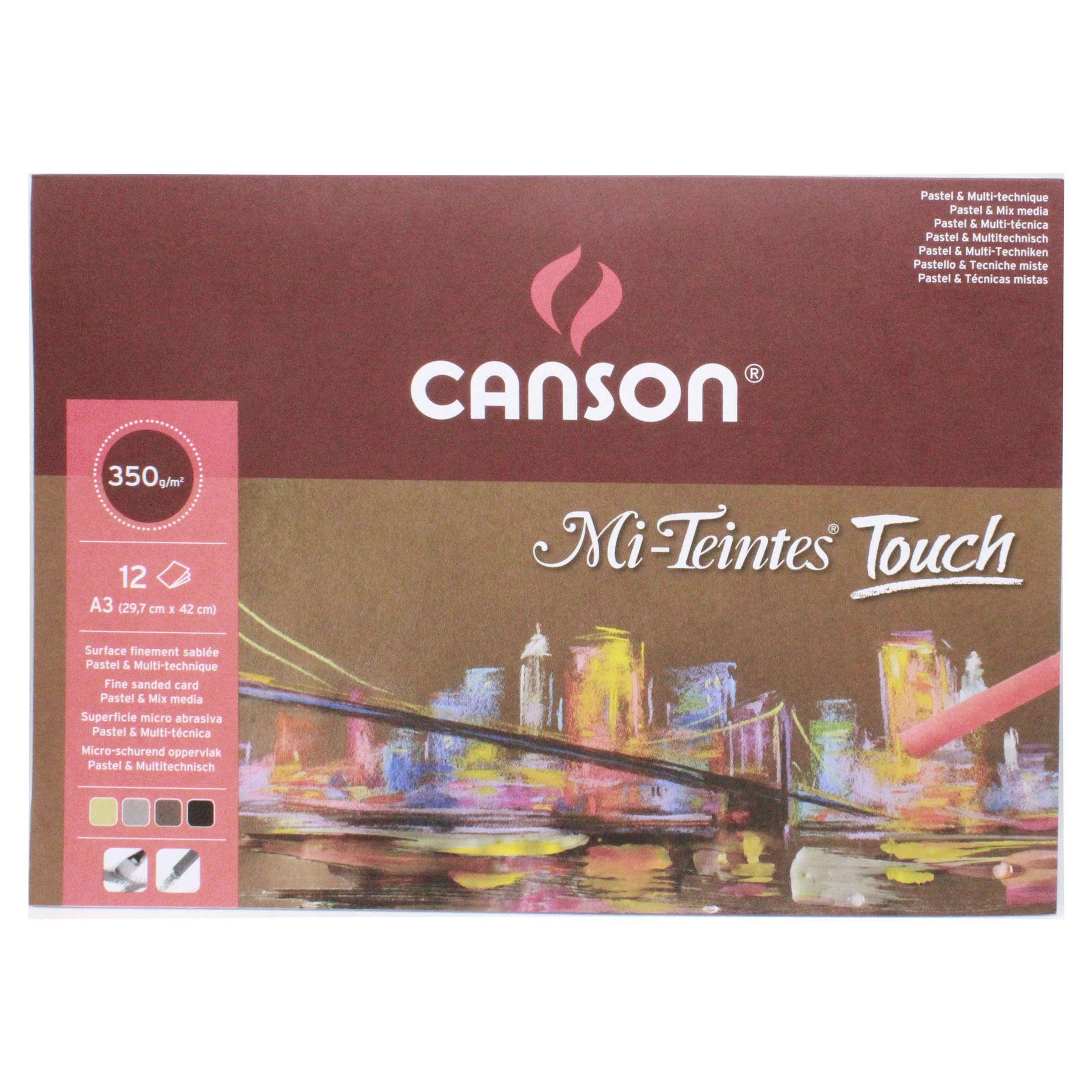 sand-paper-texture-pastel-paper-canson-Mi-Teintes-touch-soft-pastel-pad thumbnail 9