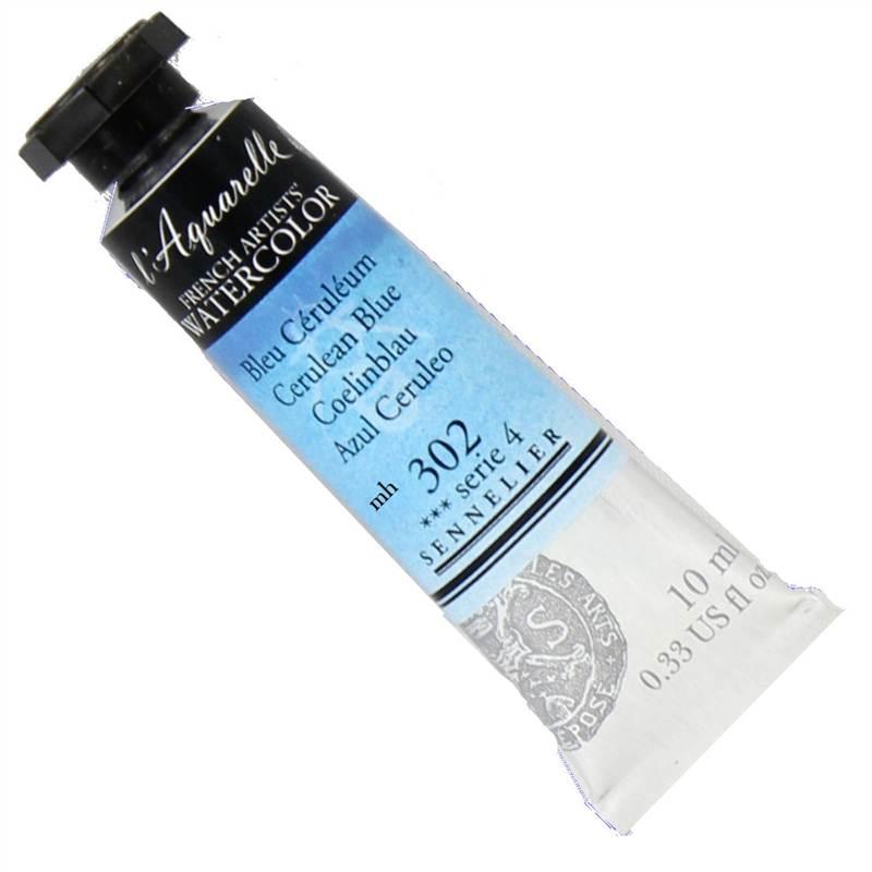 Sennelier-l-039-Aquarelle-Artist-Watercolour-paint-10ml-Tube-Series-4-Assorted